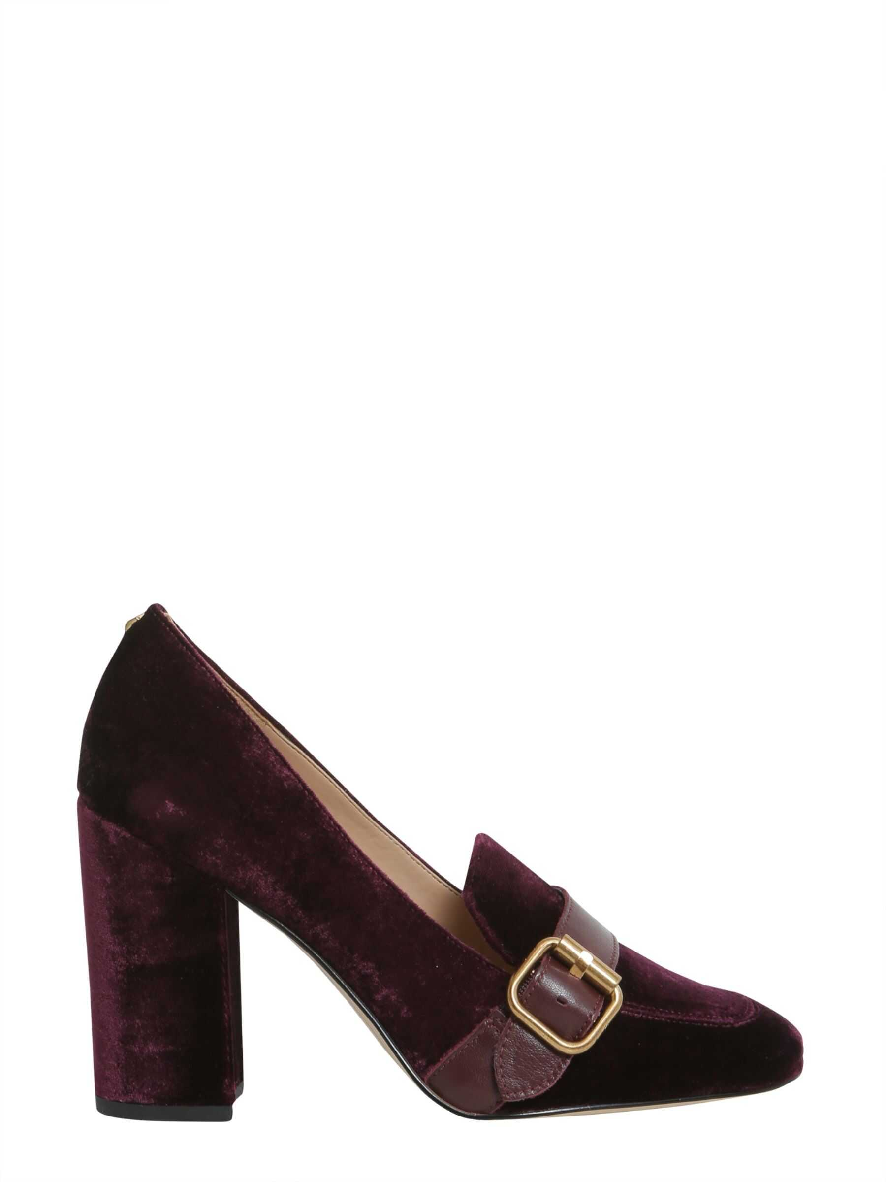 Sam Edelman Ellison Loafers With Heel BORDEAUX