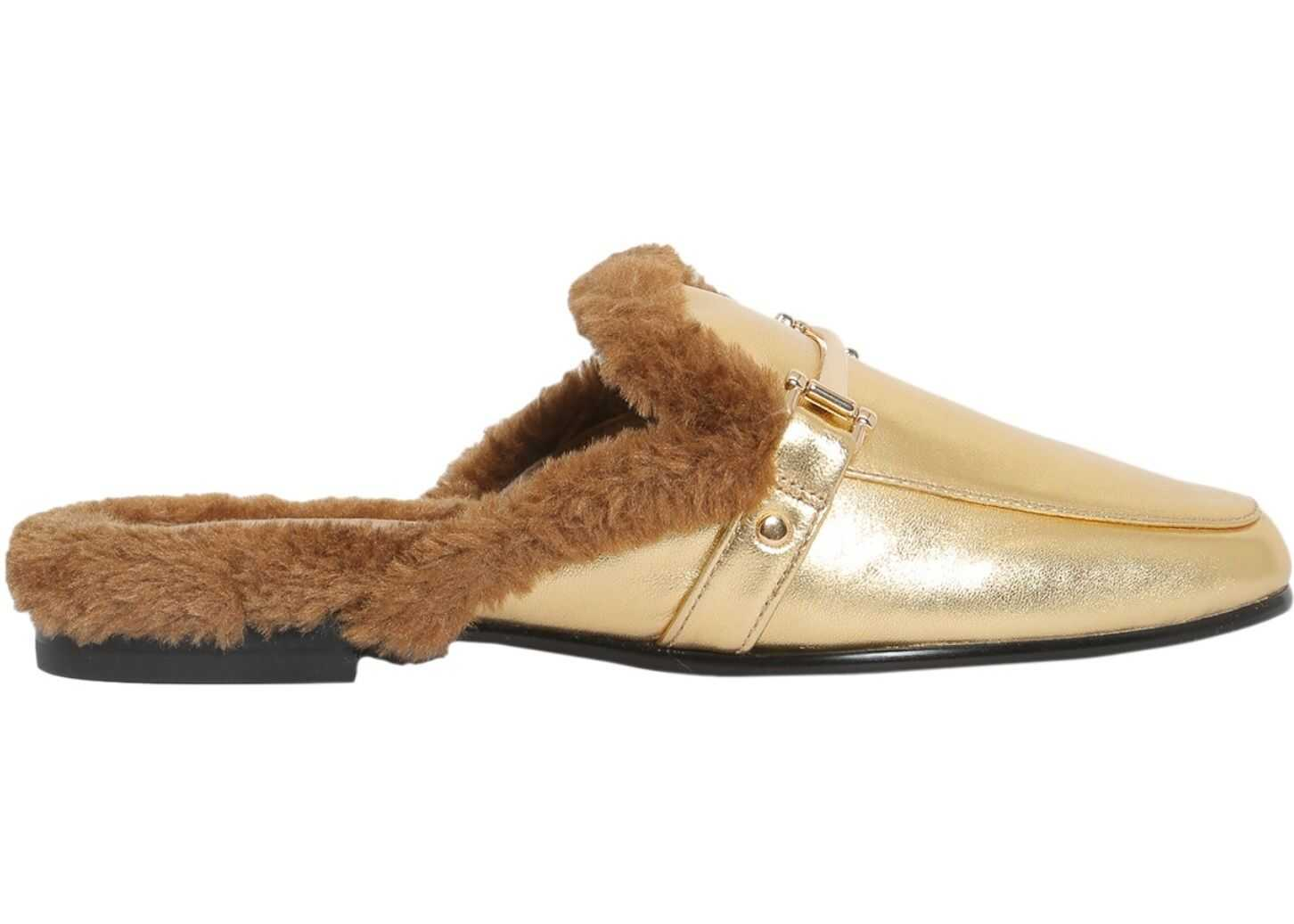 Sam Edelman Danica Slippers GOLD