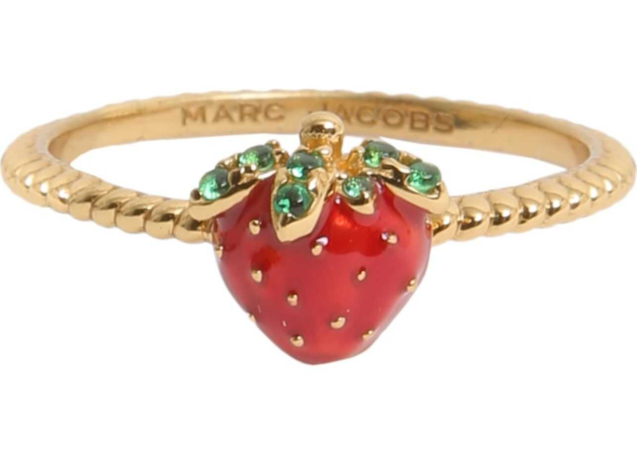 Marc Jacobs Strawberry Ring GOLD
