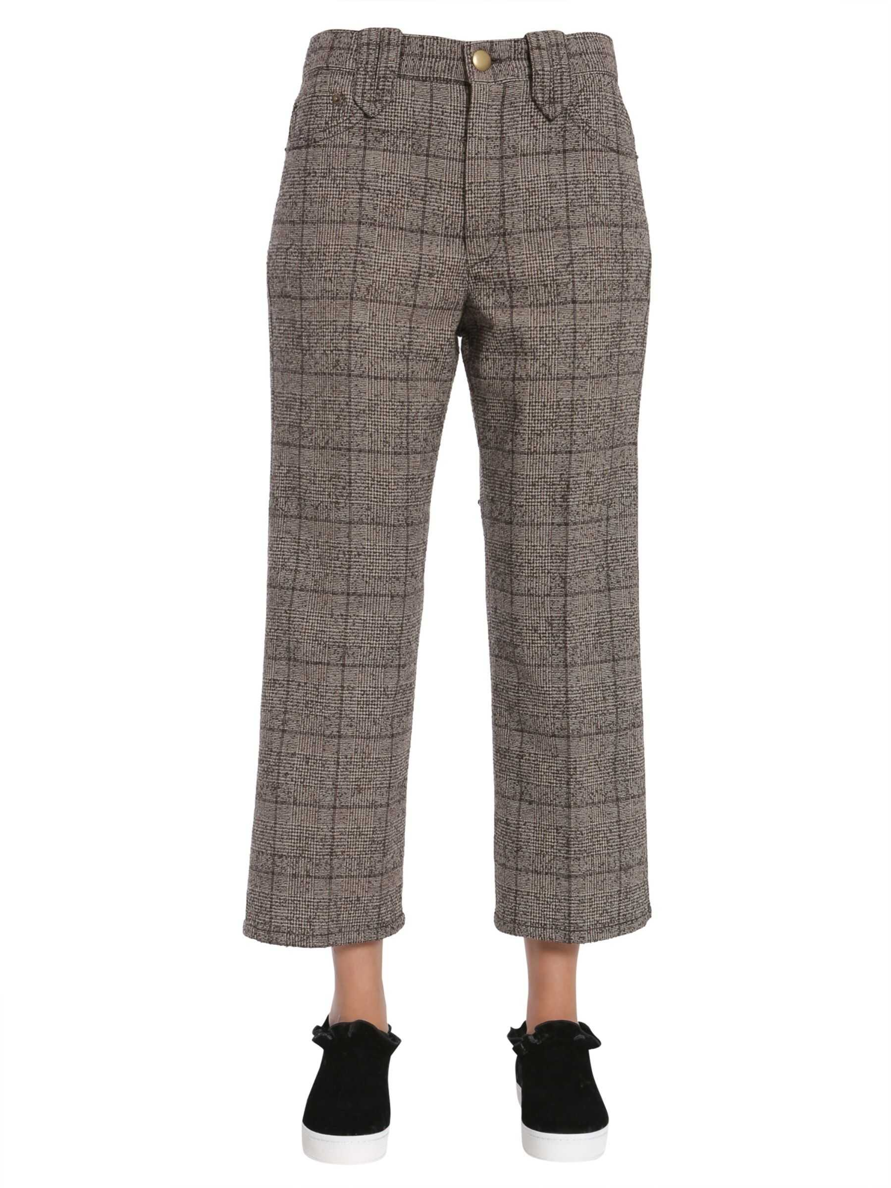 Marc Jacobs Cropped Trousers MULTICOLOUR
