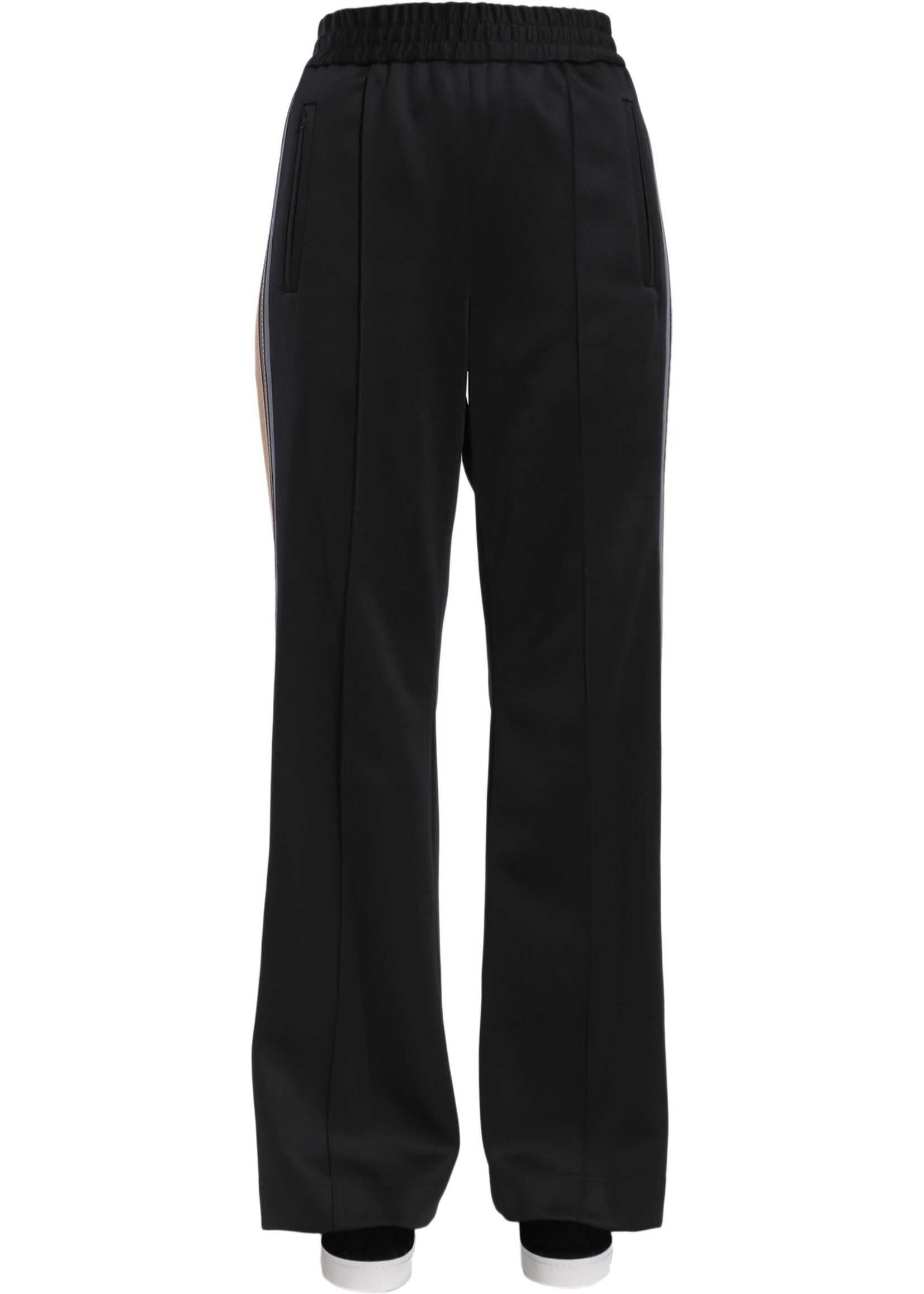 Marc Jacobs Track Runway Trousers BLACK