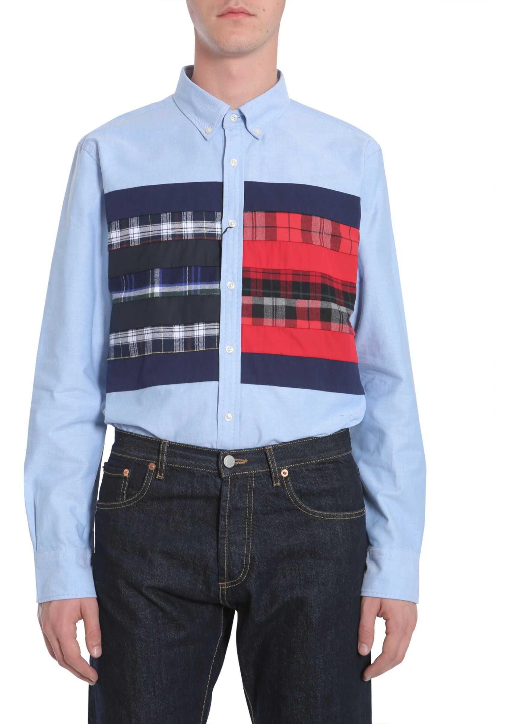 Tommy Hilfiger Button Down Shirt BLUE