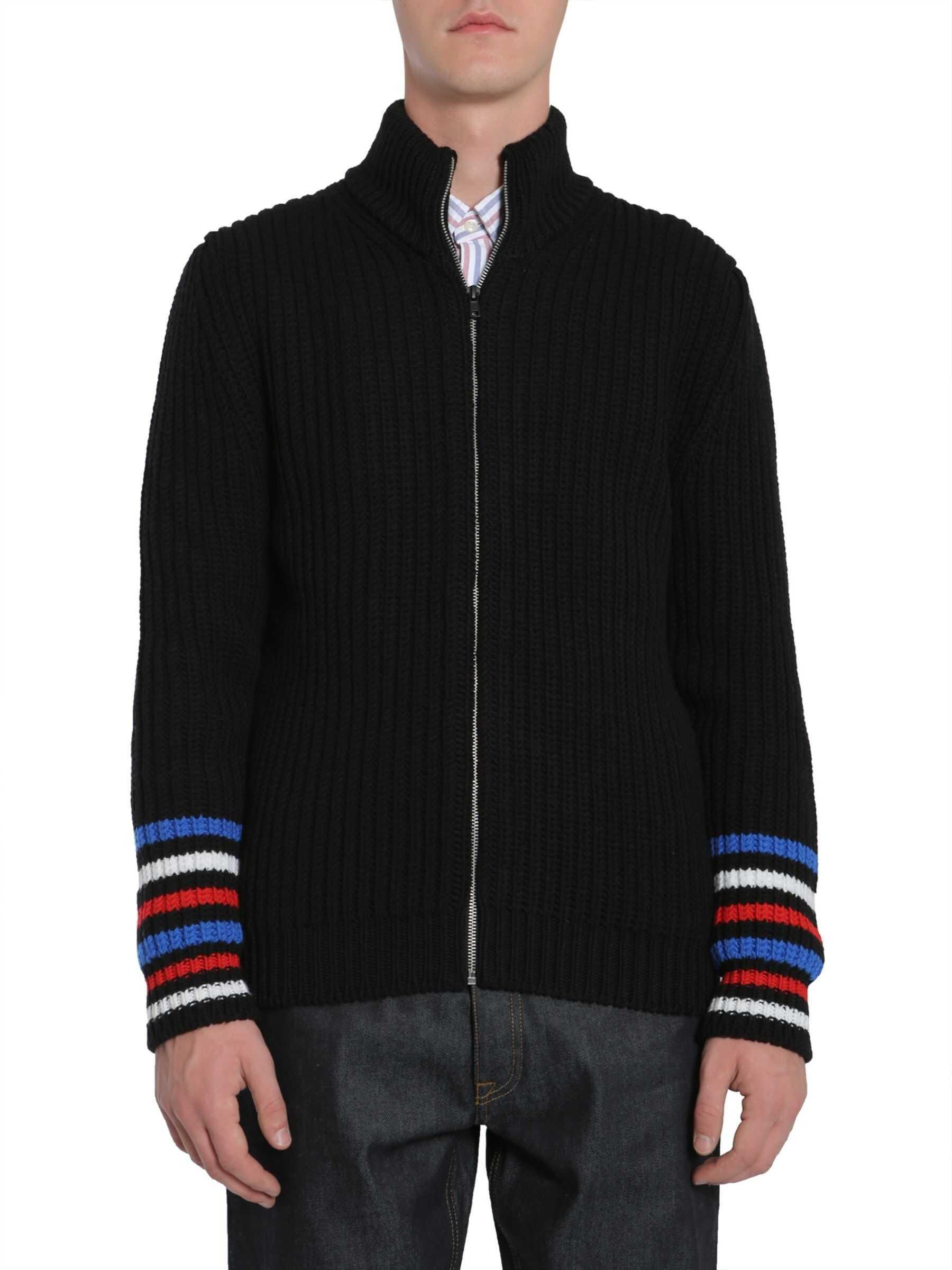 Tommy Hilfiger High Collar Sweater BLACK imagine