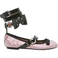 Balerini Moschino Ballerina With Painted Lace