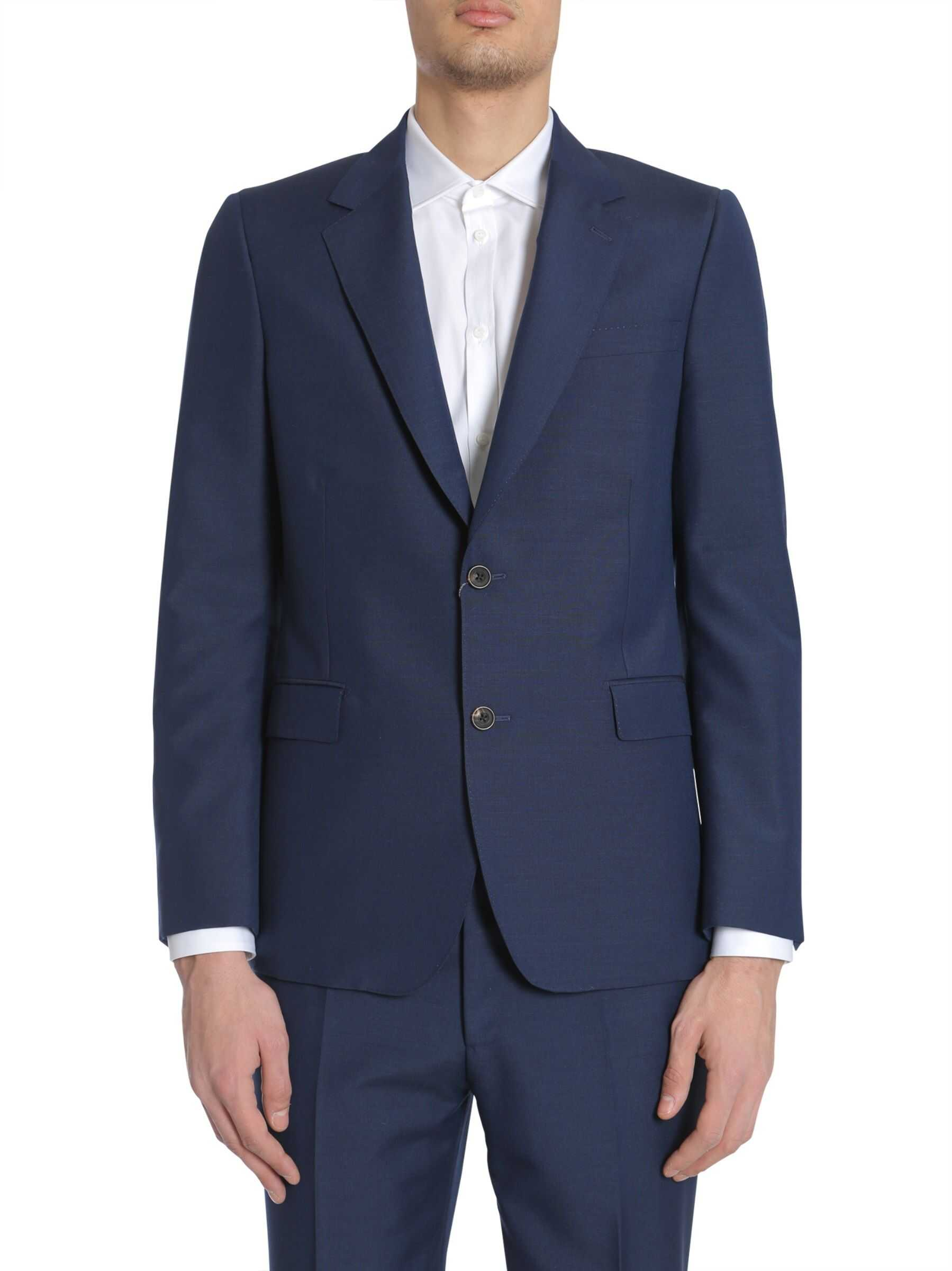 Alexander McQueen Tailored Jacket BLUE imagine