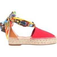 Platforme Rope And Leather Espadrilles Femei