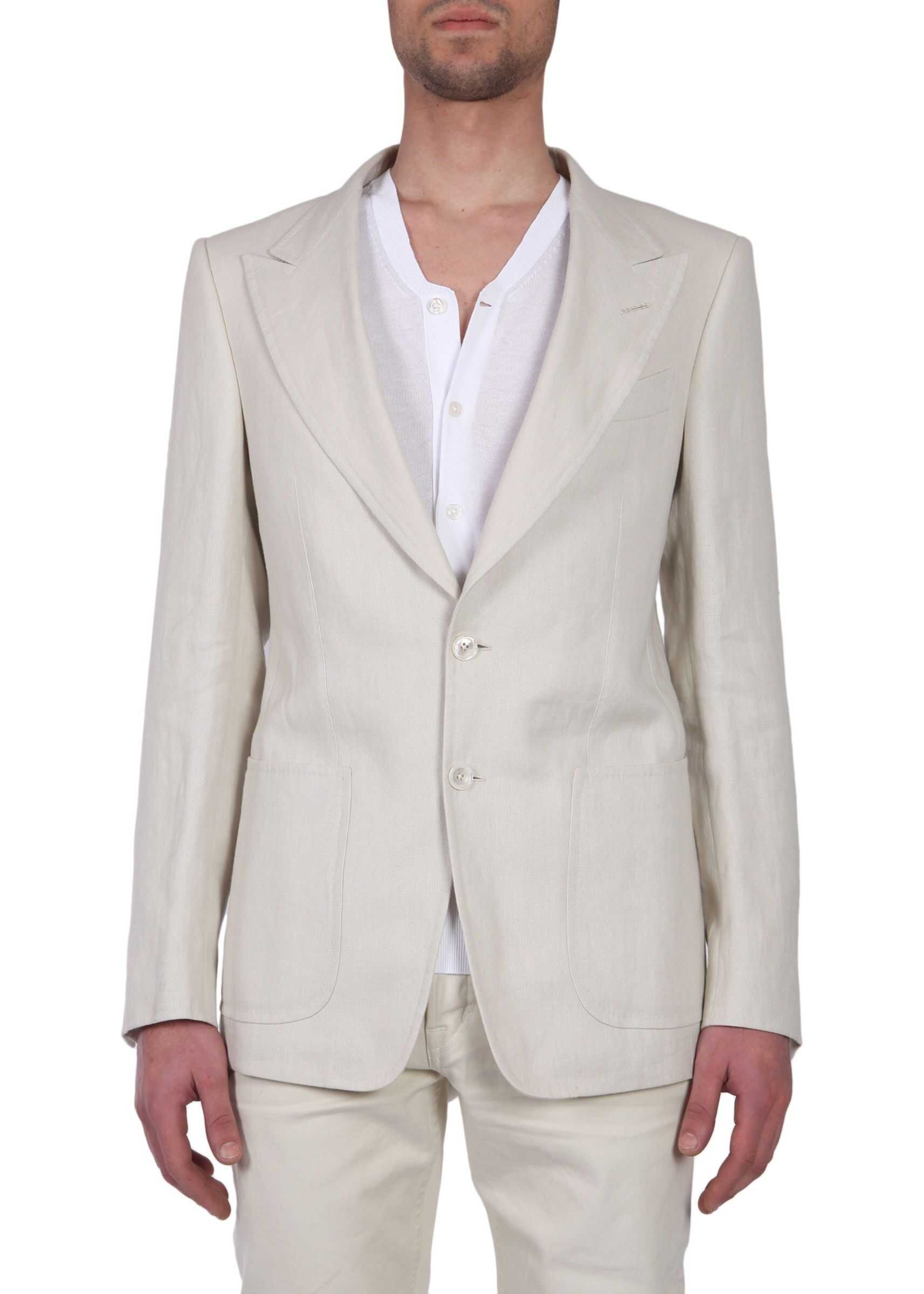 Tom Ford Single Breasted Jacket BEIGE