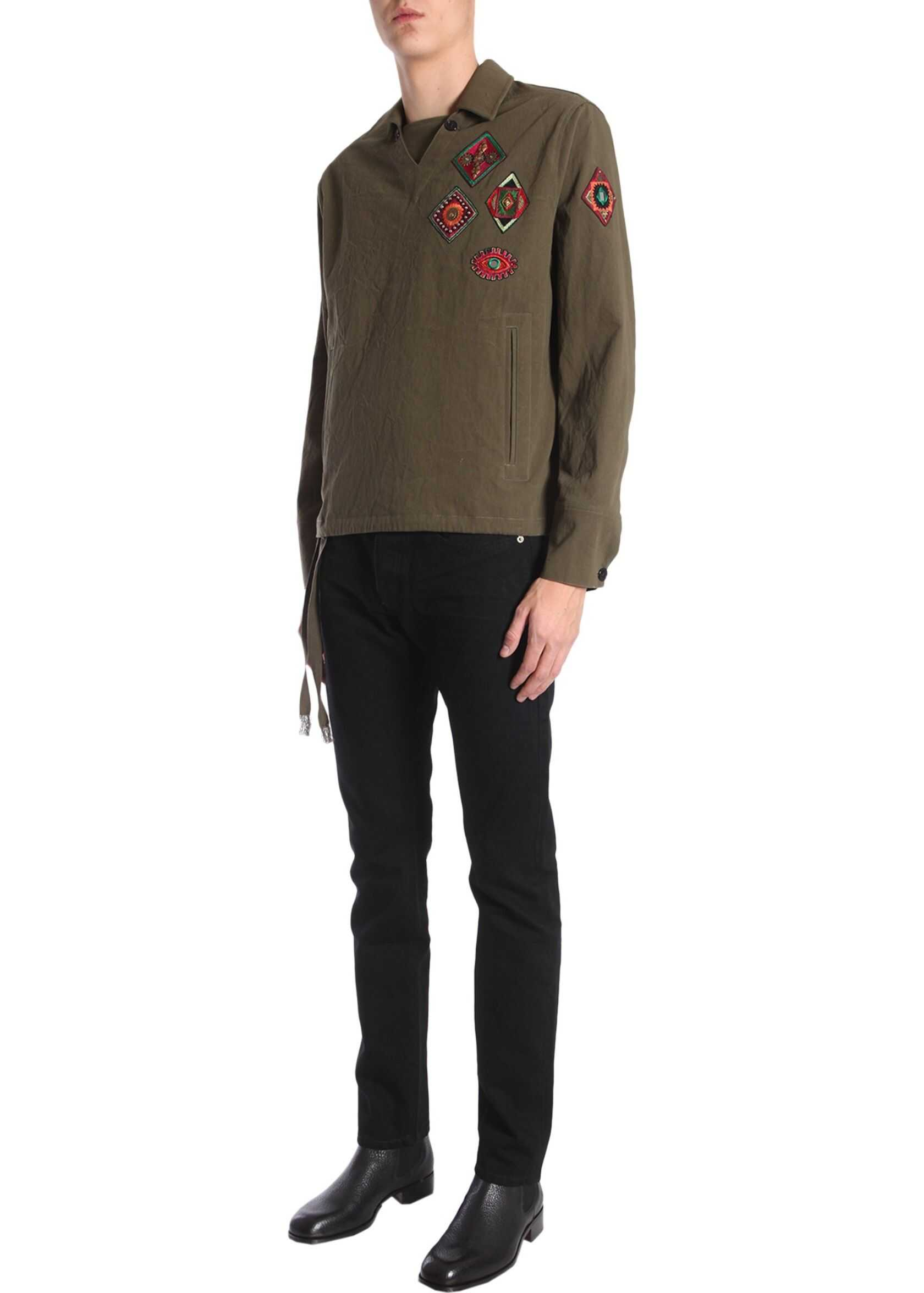Tunic With Indian Patches
