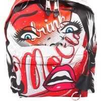 Rucsacuri Moschino Capsule Printed Backpack