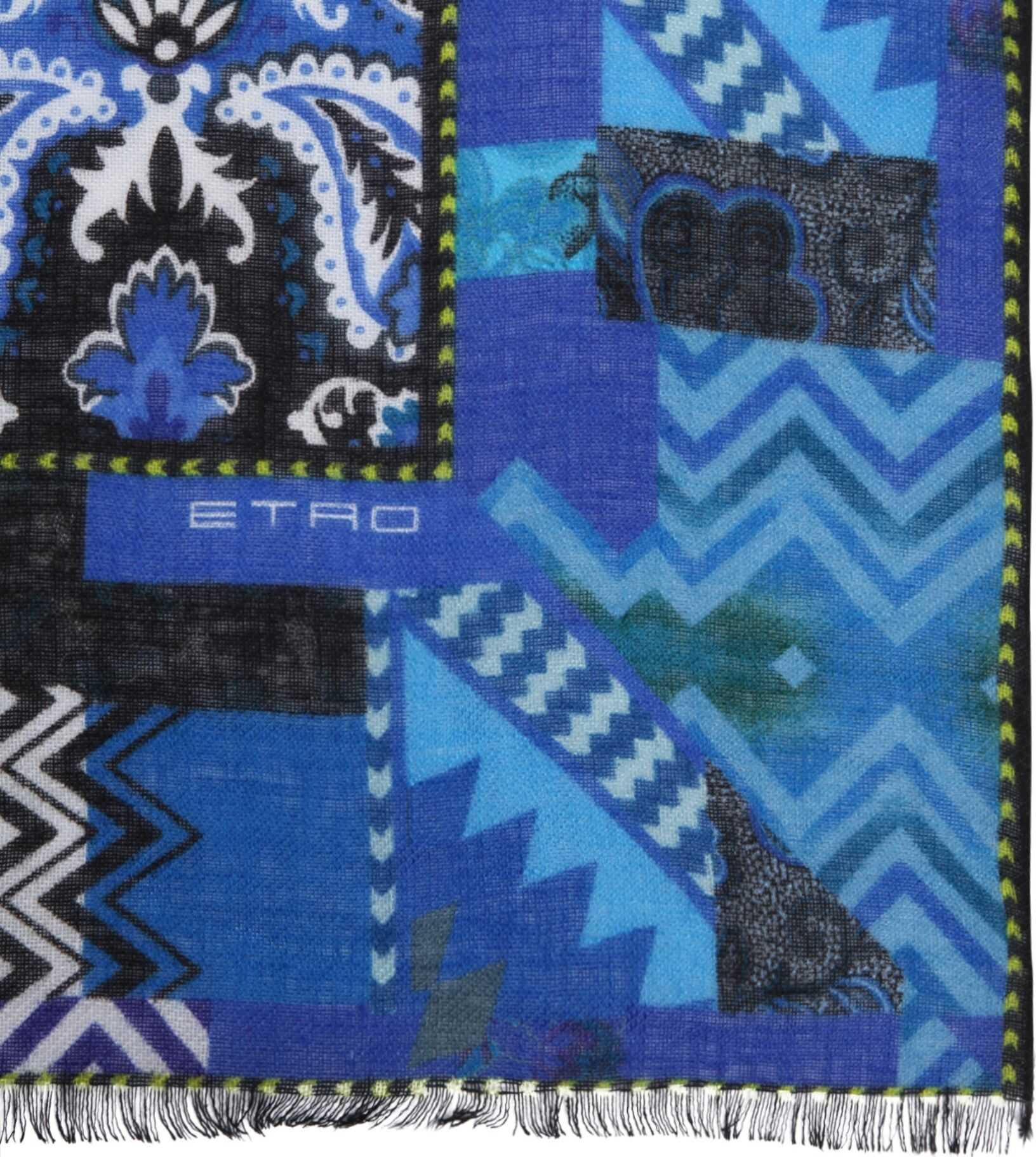 ETRO Shaal-Nur Scarf BLUE