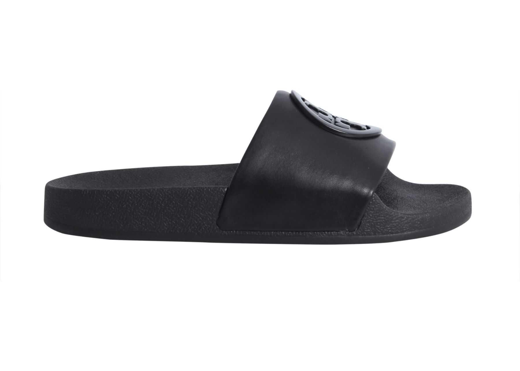 Tory Burch Lina Slide Sandals BLACK