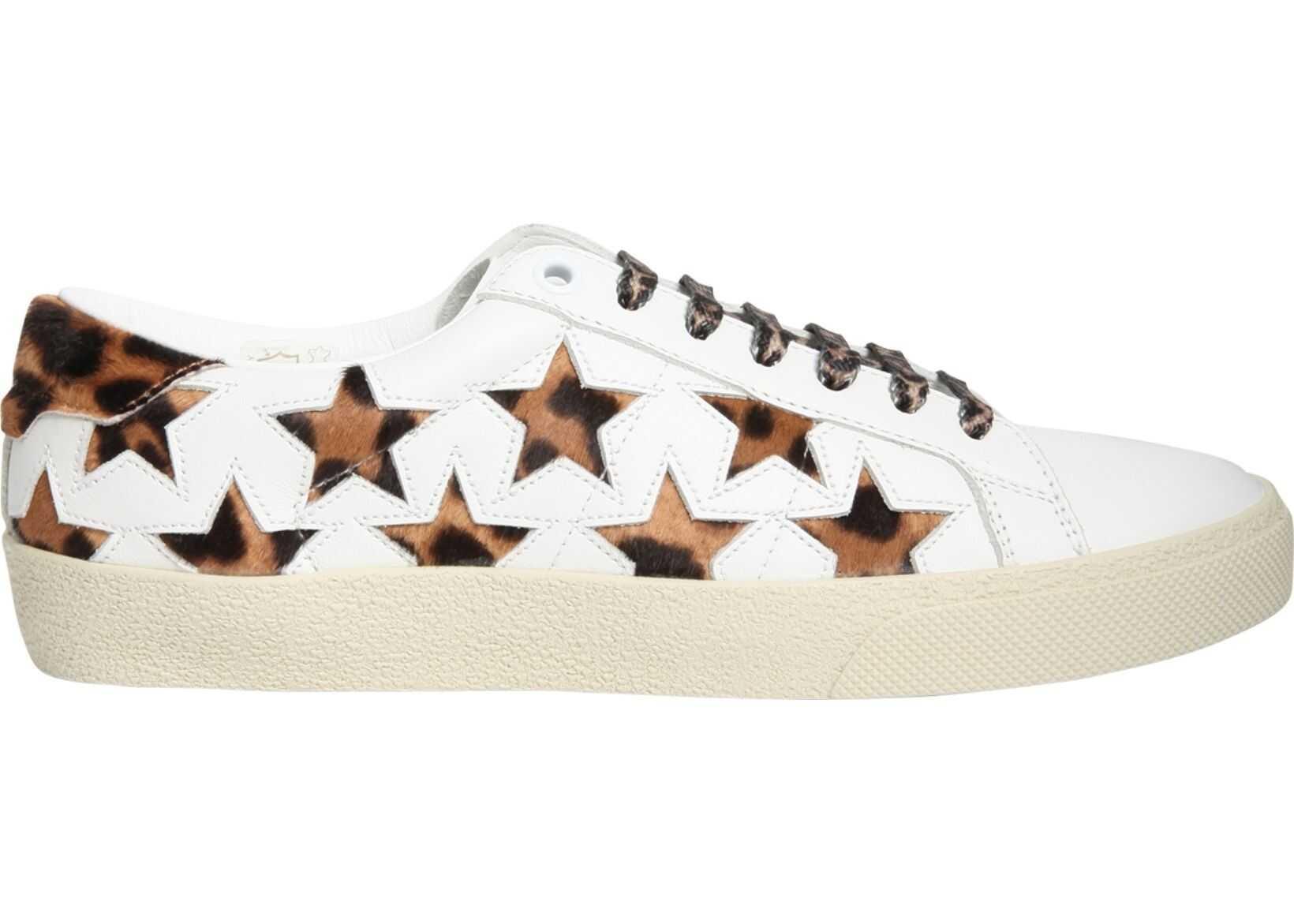 Saint Laurent Stars Sl/06 Sneakers WHITE