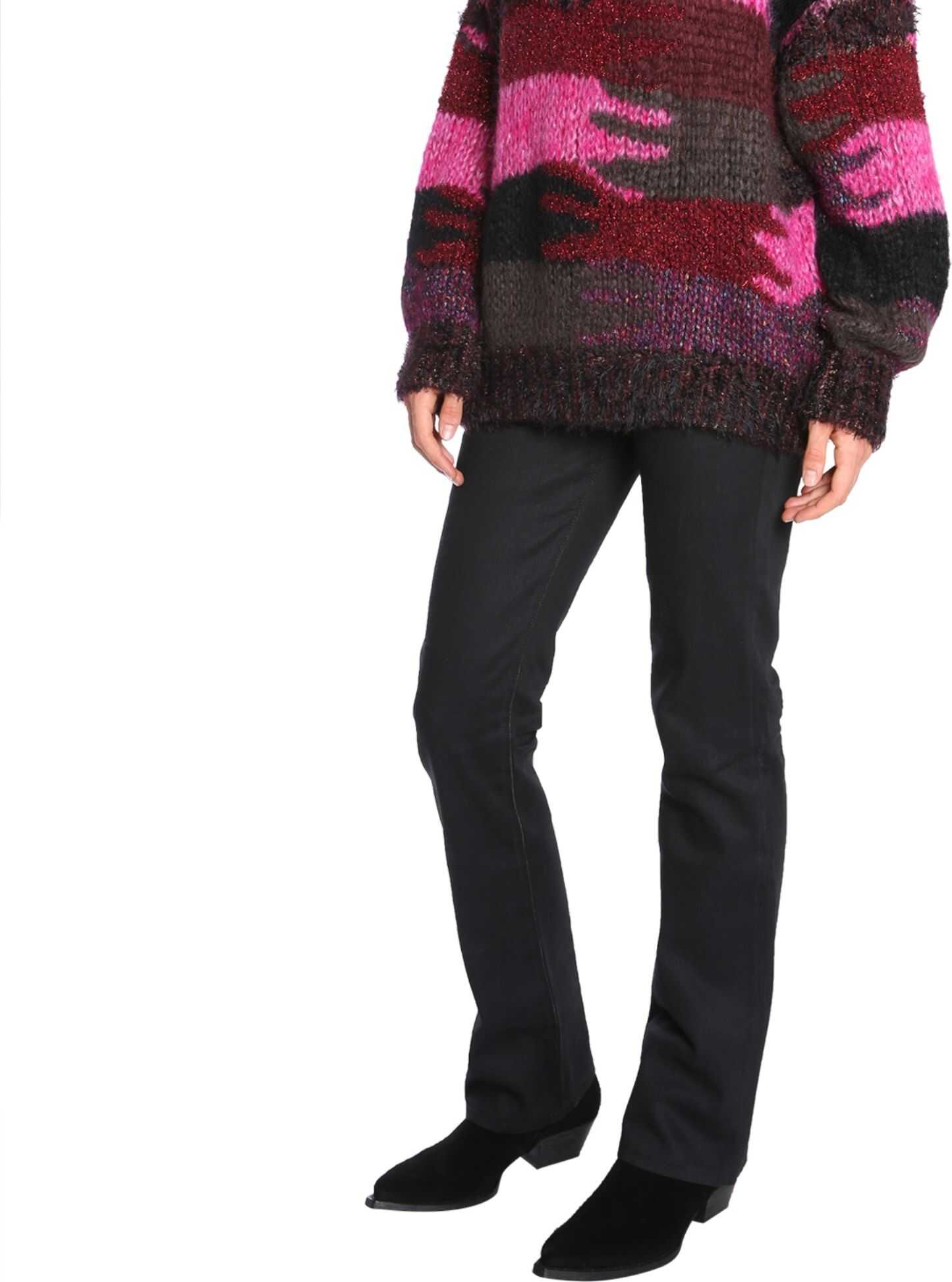 Saint Laurent Oversized Sweater MULTICOLOUR