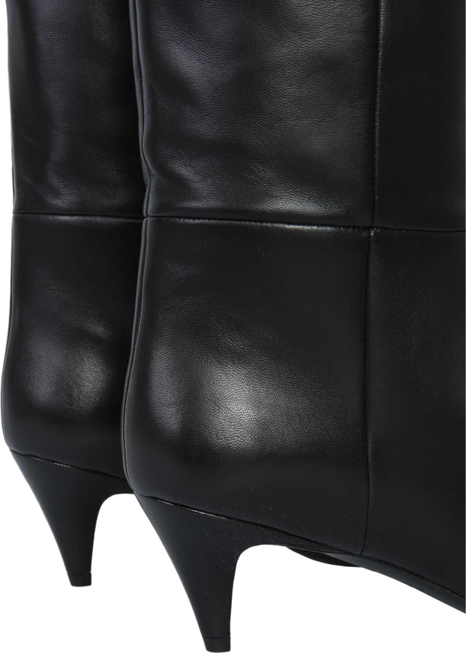 Saint Laurent Charlotte 55 High Boots BLACK