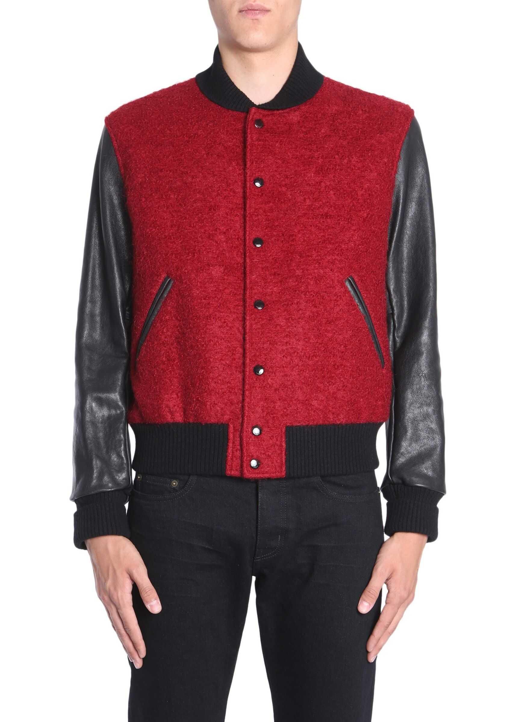 Varsity Jacket In Mohair