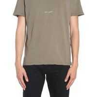 Tricouri T-Shirt With Saint Laurent Square Barbati