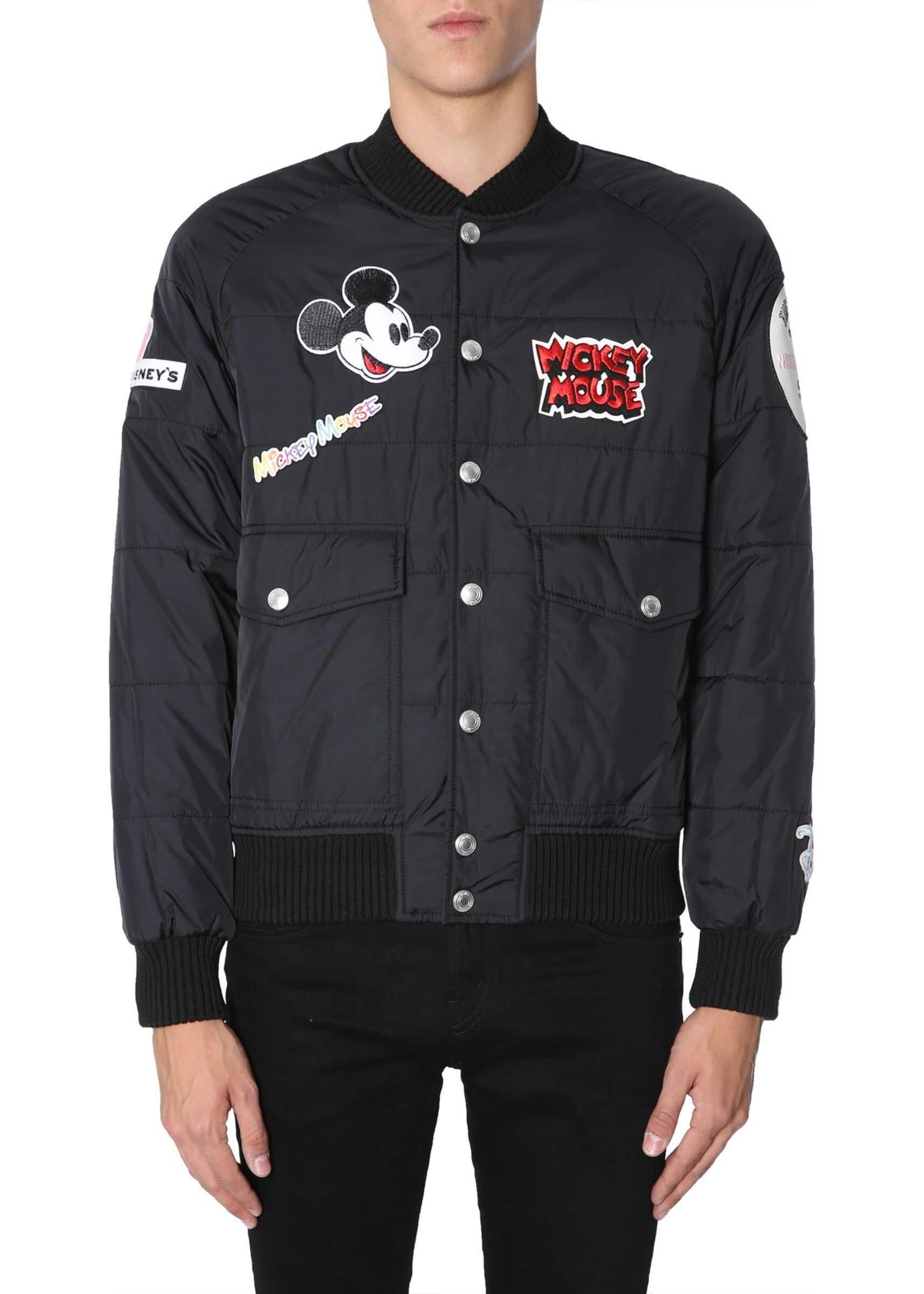 """Mickey Mouse"" Bomber Jacket"