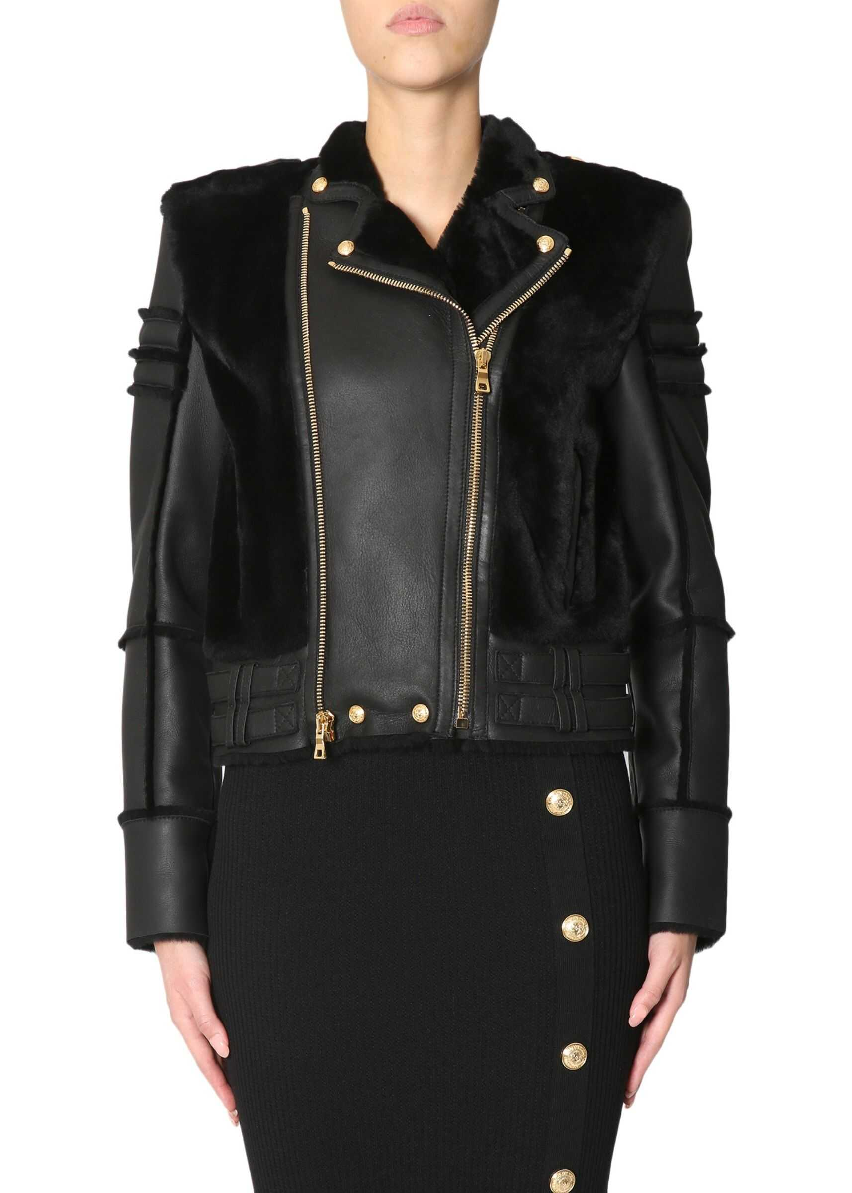 Balmain Biker Jacket BLACK