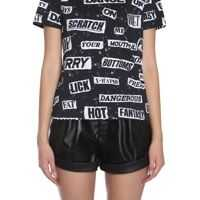 Tricouri Moschino Round Collar T-Shirt