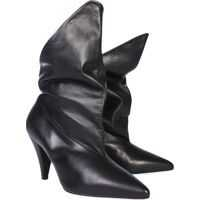 Cizme scurte Leather Ankle Boots Femei
