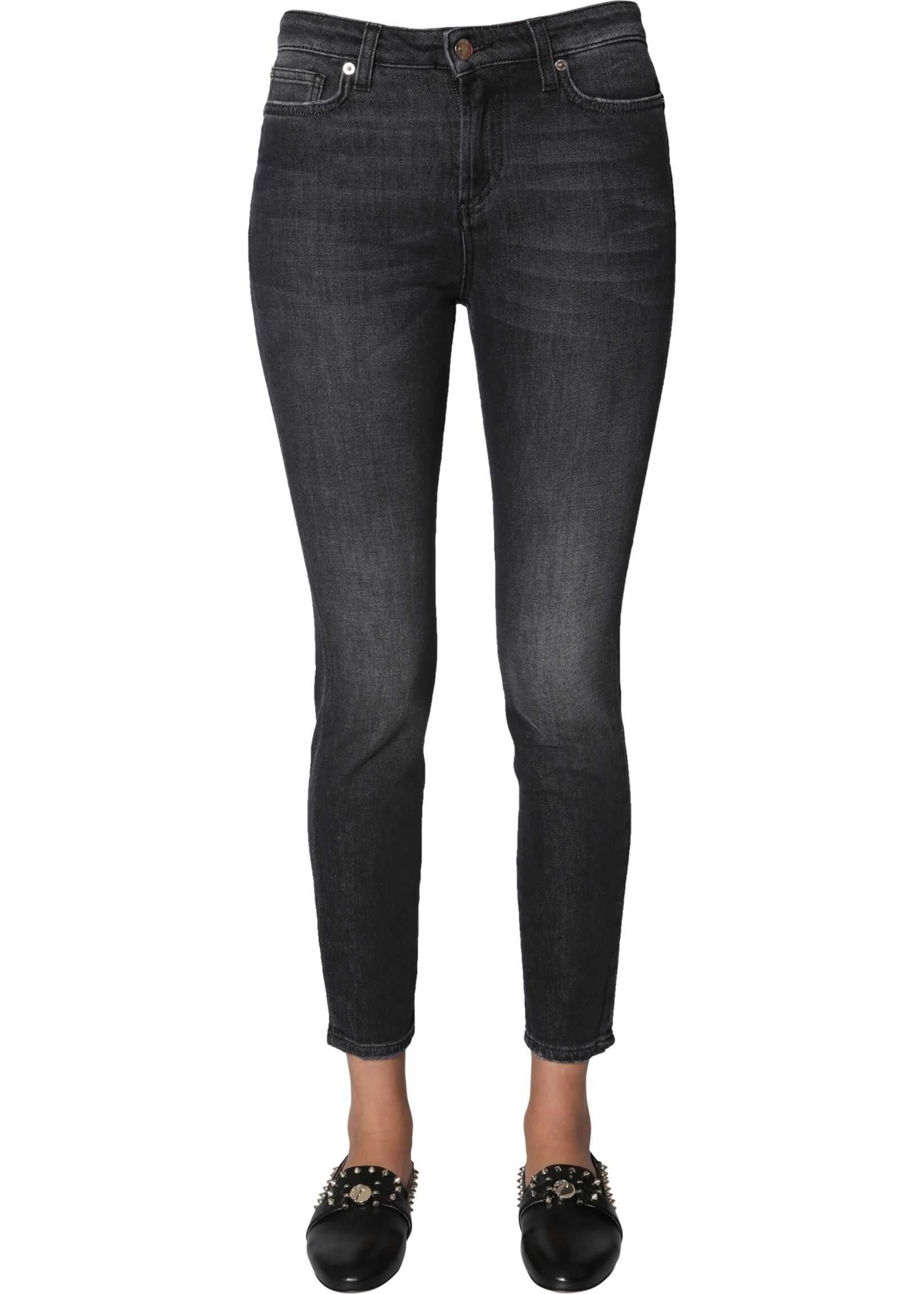 Versace Collection Skinny Fit Jeans BLACK