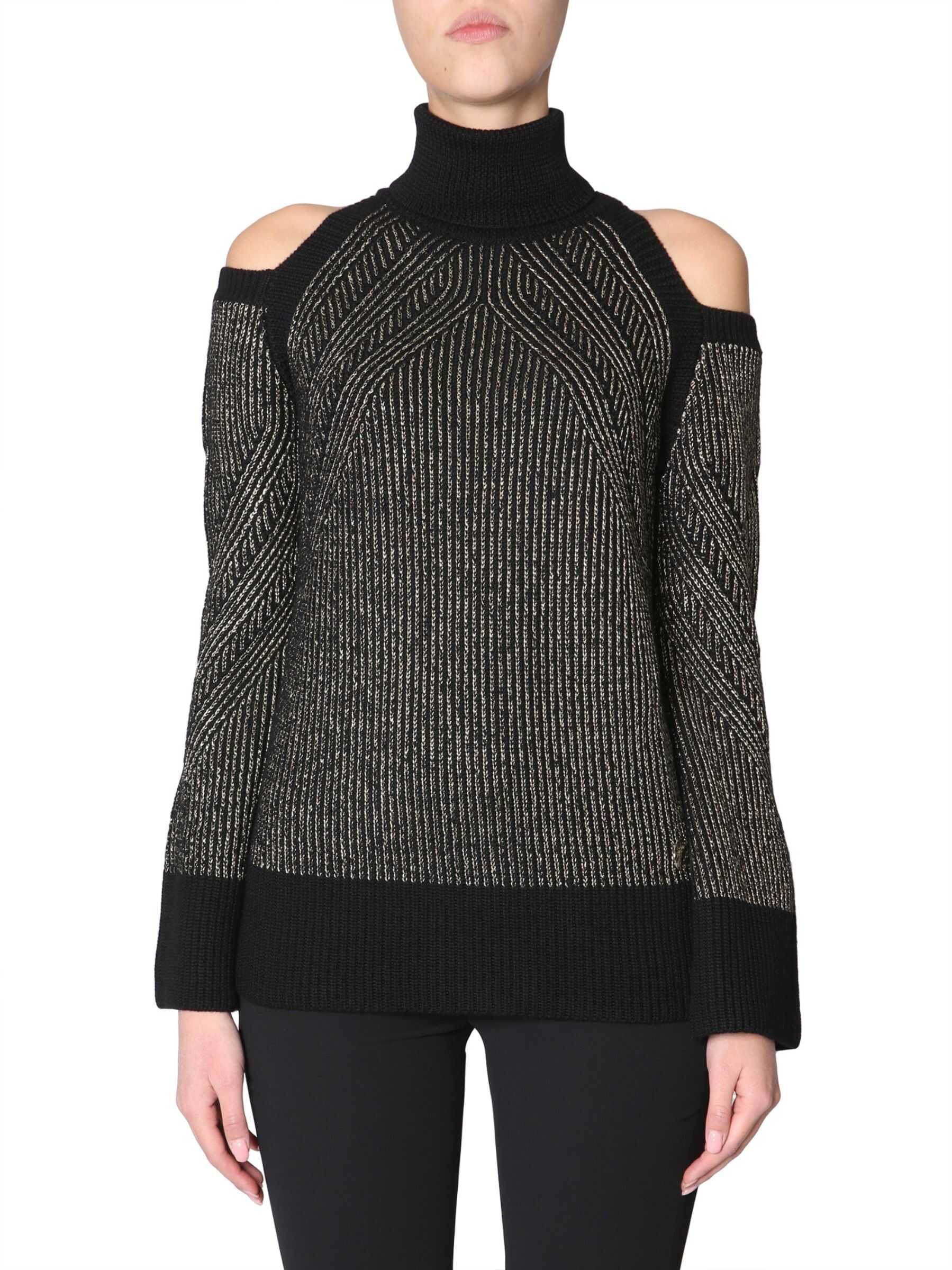 Versace Collection Turtleneck Sweater BLACK