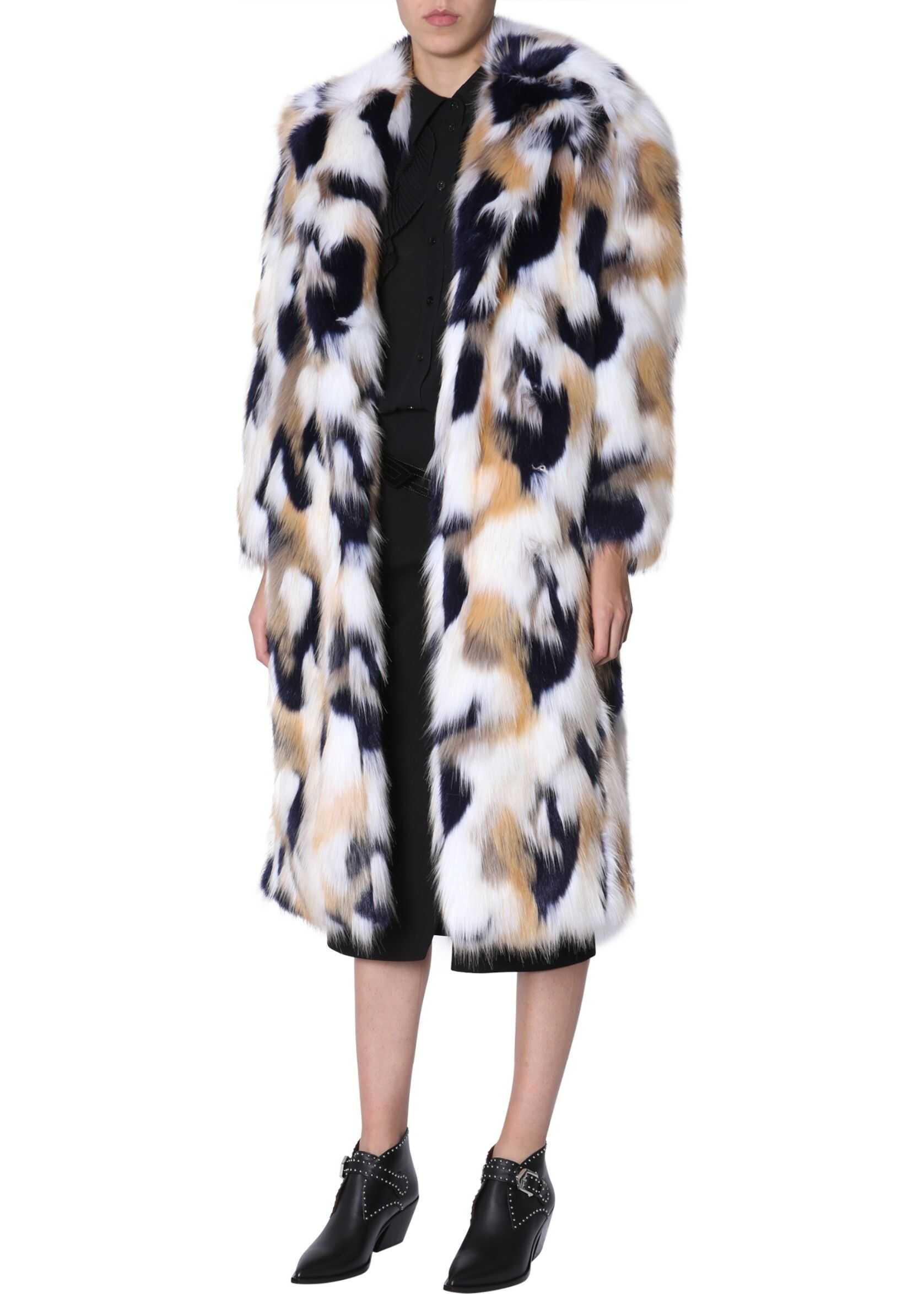 Givenchy Long Coat MULTICOLOUR