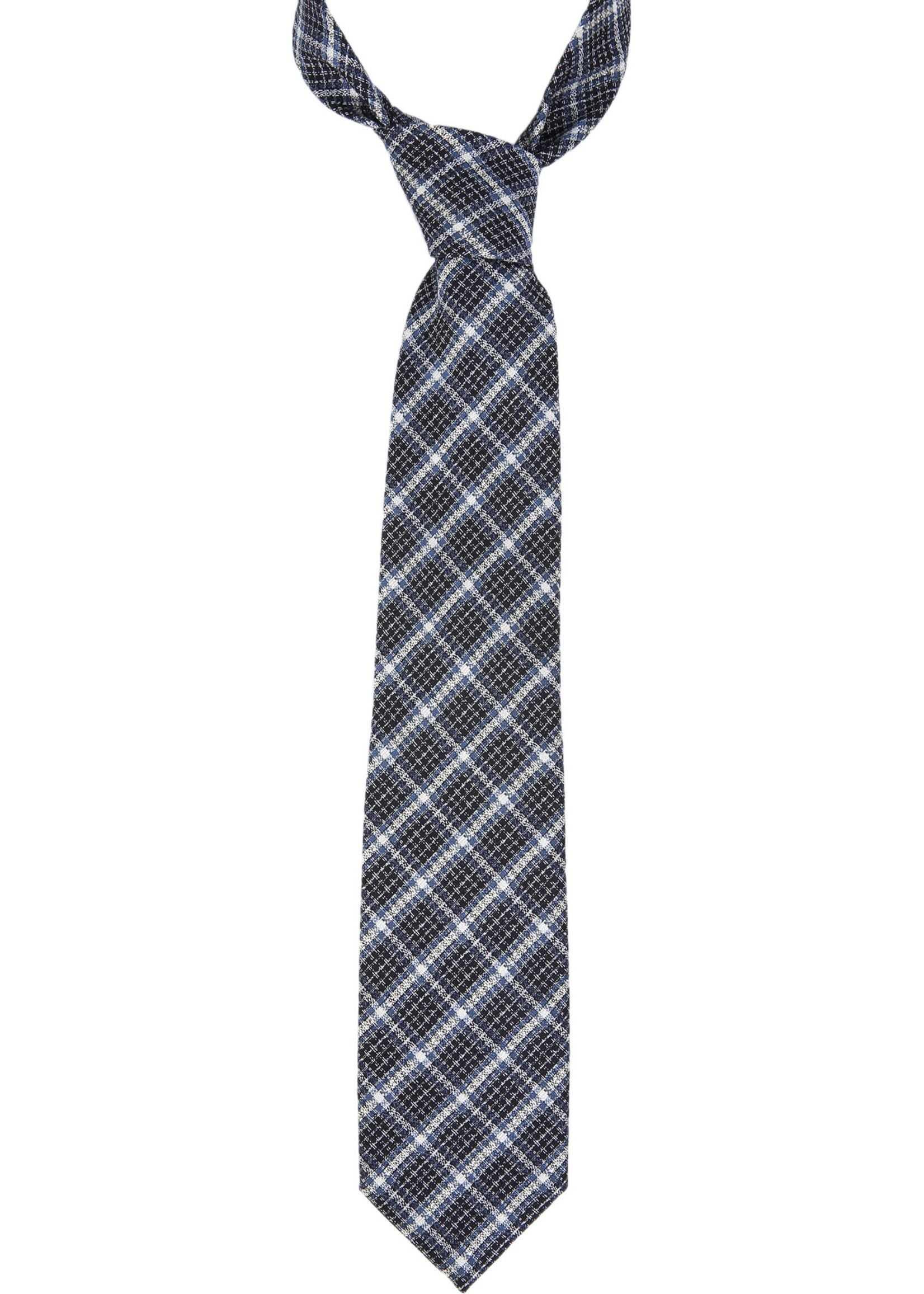 Tom Ford Check Tie MULTICOLOUR