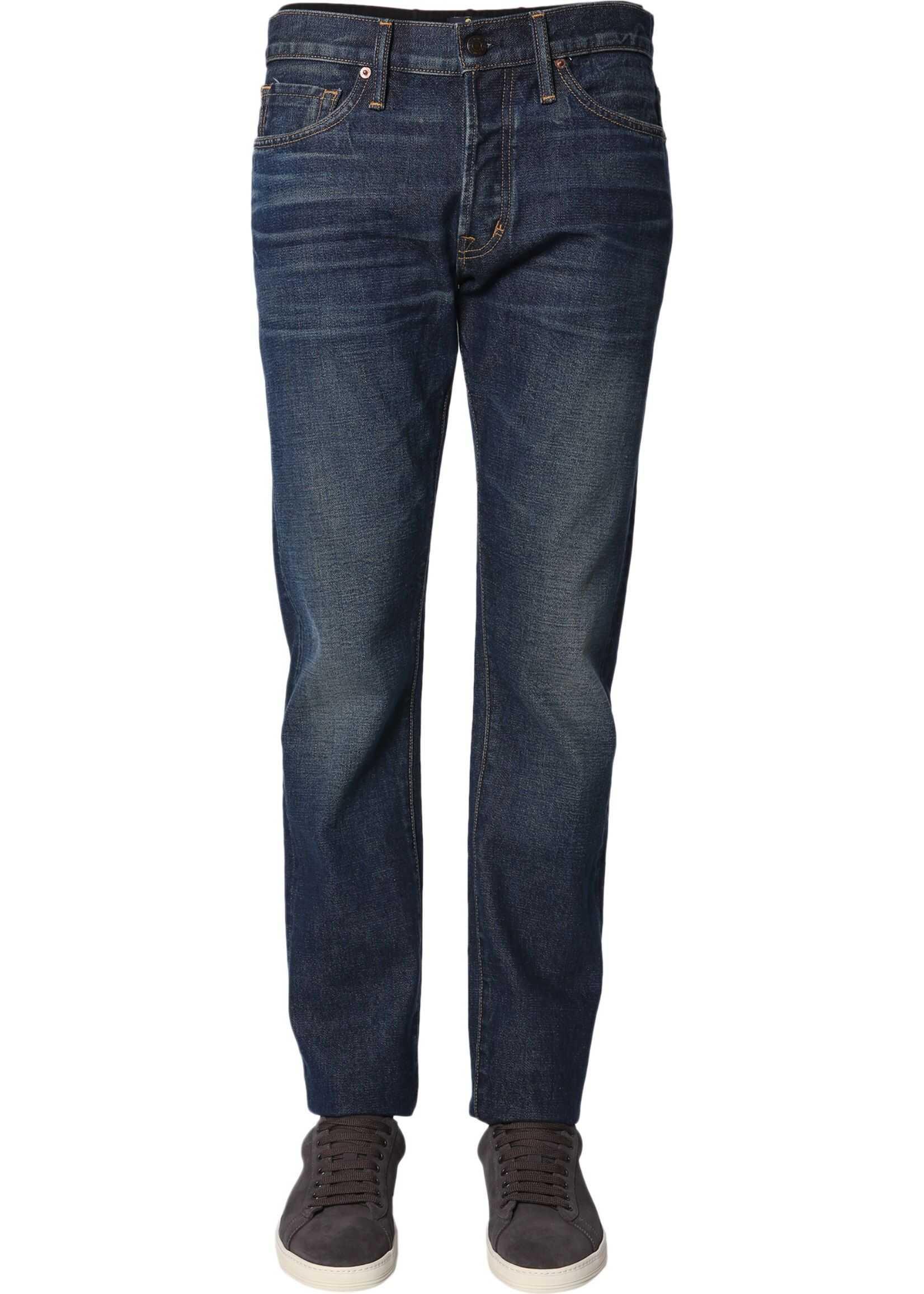 Tom Ford Slim Fit Jeans BLUE