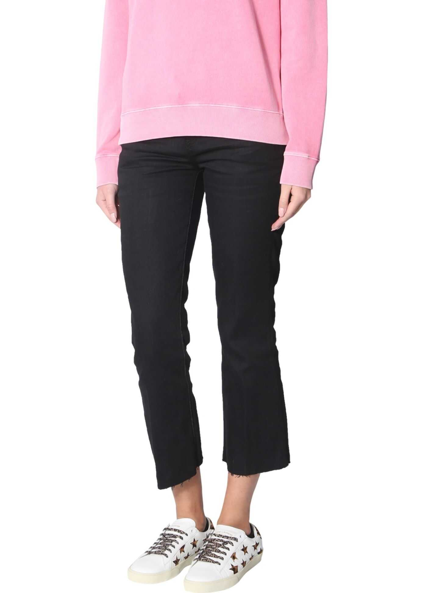 Saint Laurent Crew Neck Sweatshirt PINK