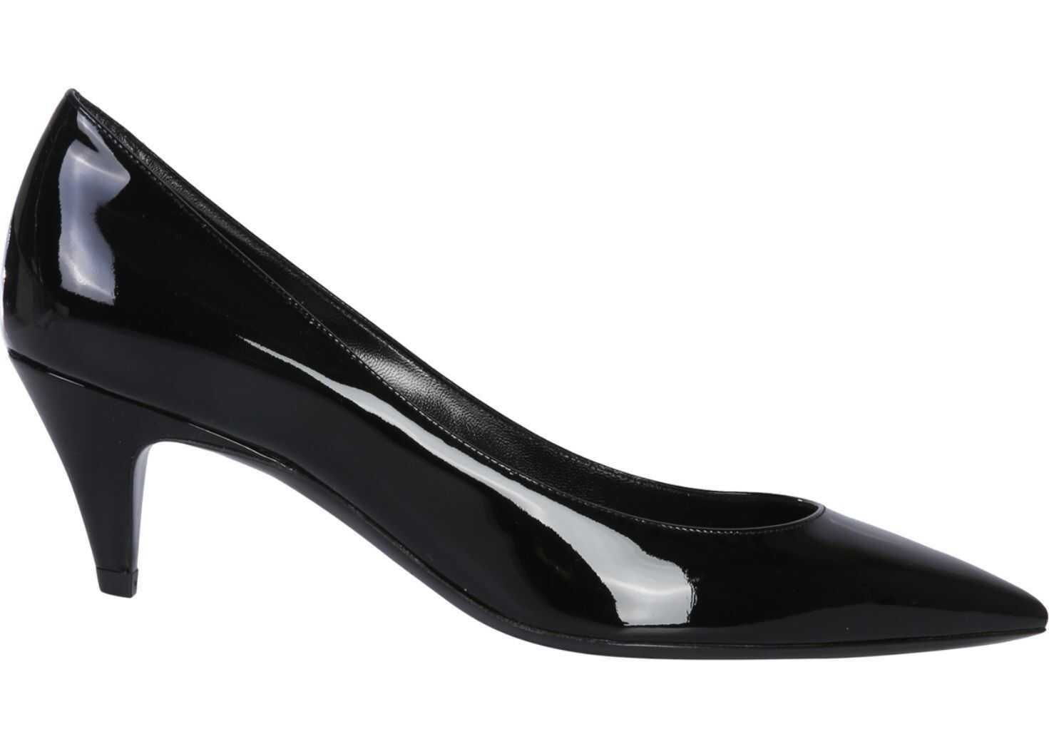 Saint Laurent Décolleté Charlotte 55 Pumps BLACK