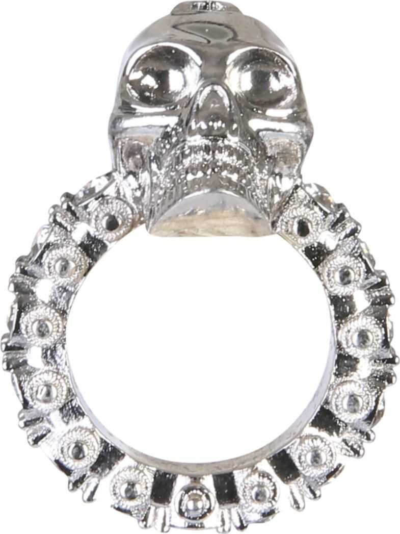 Alexander McQueen Skull Ring SILVER