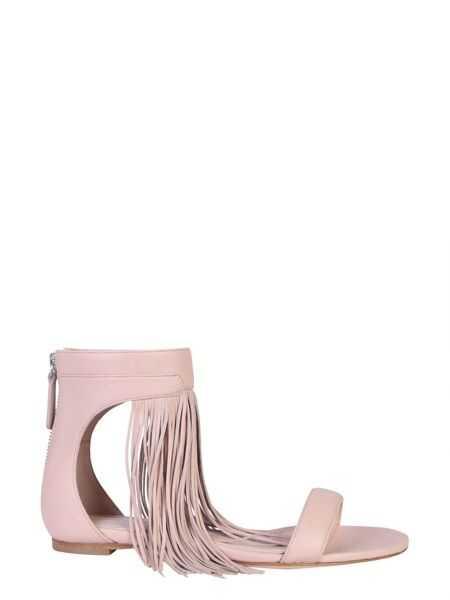 Sandale Dama Alexander McQueen Sandal With Fringes