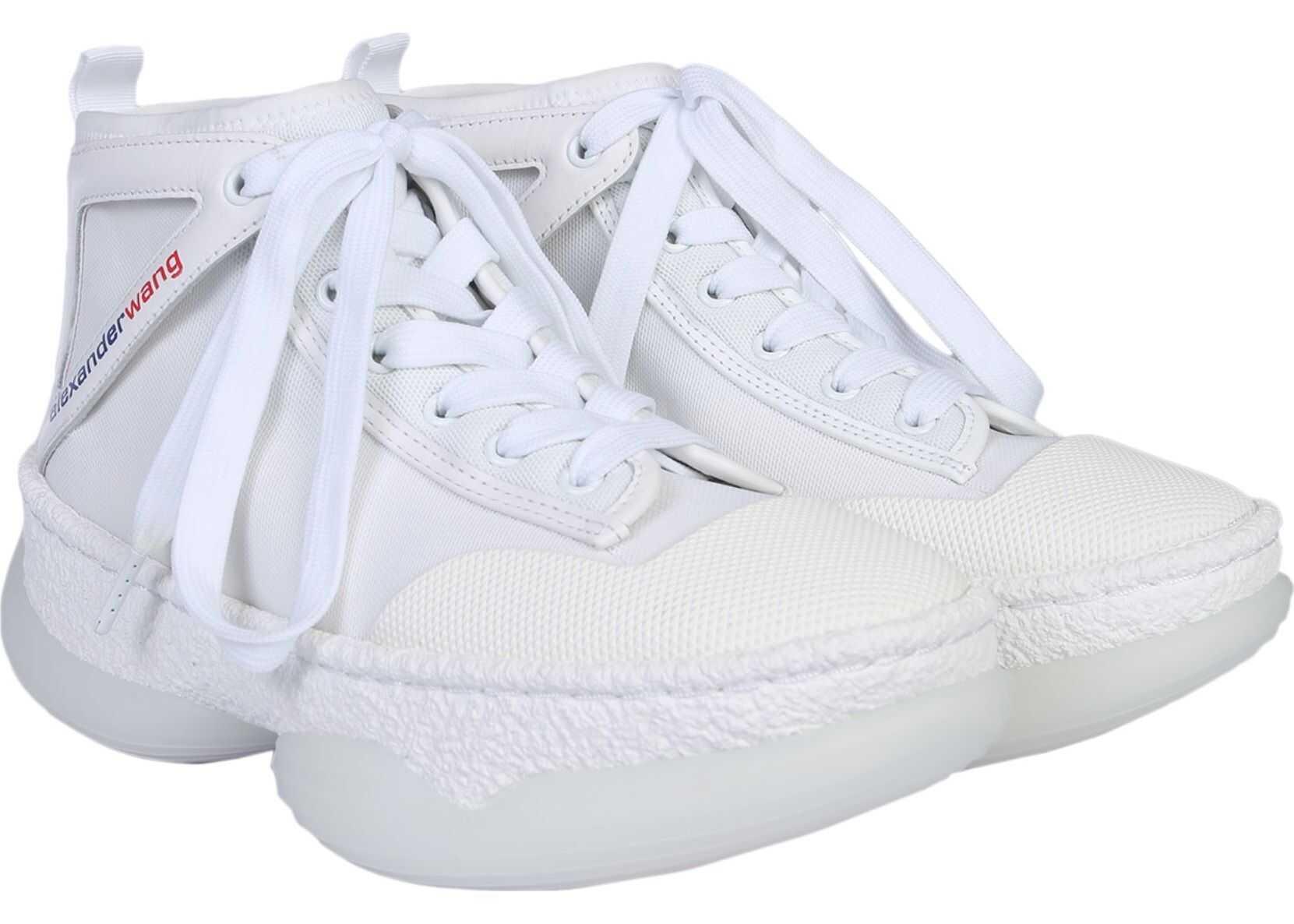 Alexander Wang A1 High Sneakers WHITE