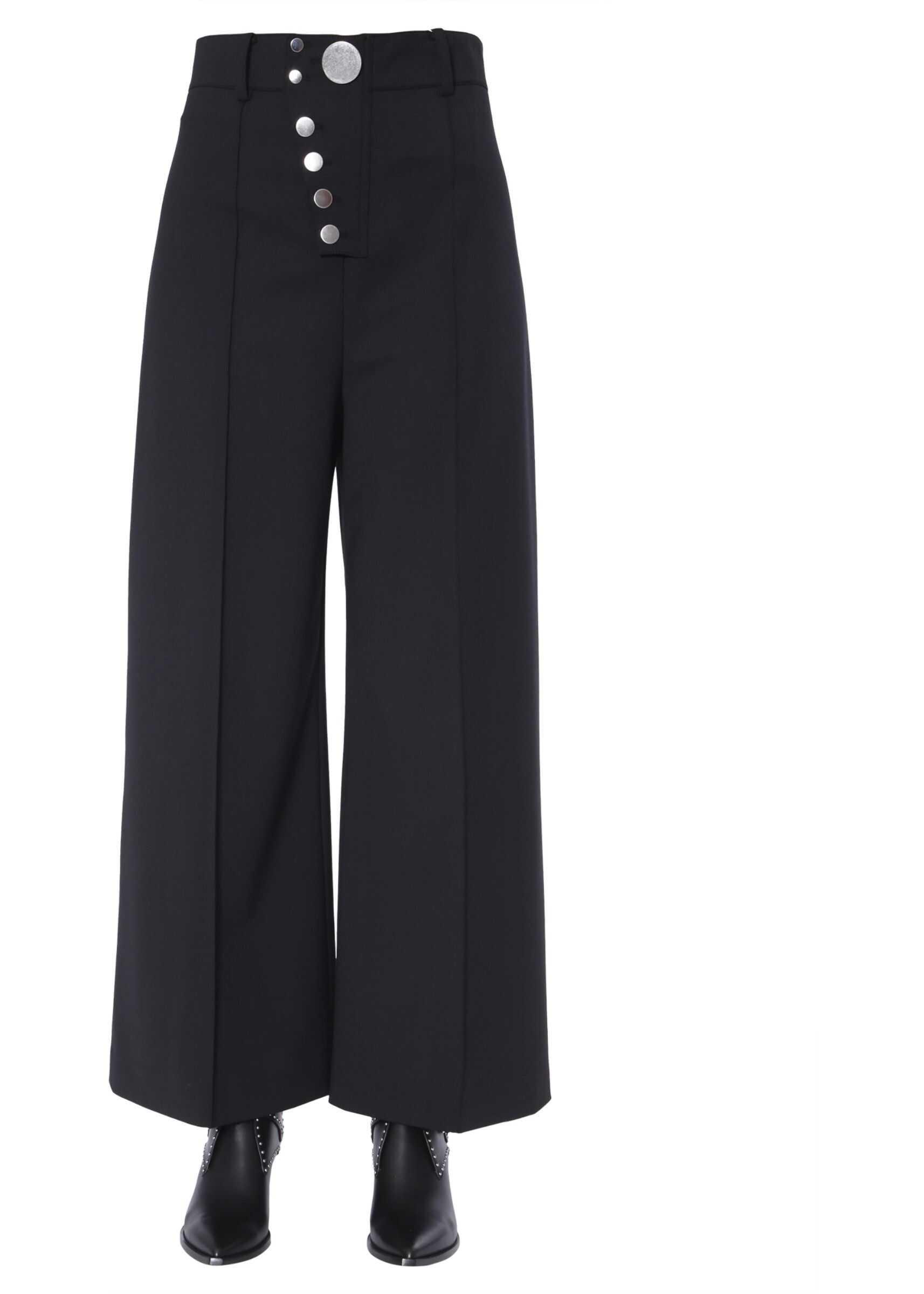 Alexander Wang Ample Trousers BLACK
