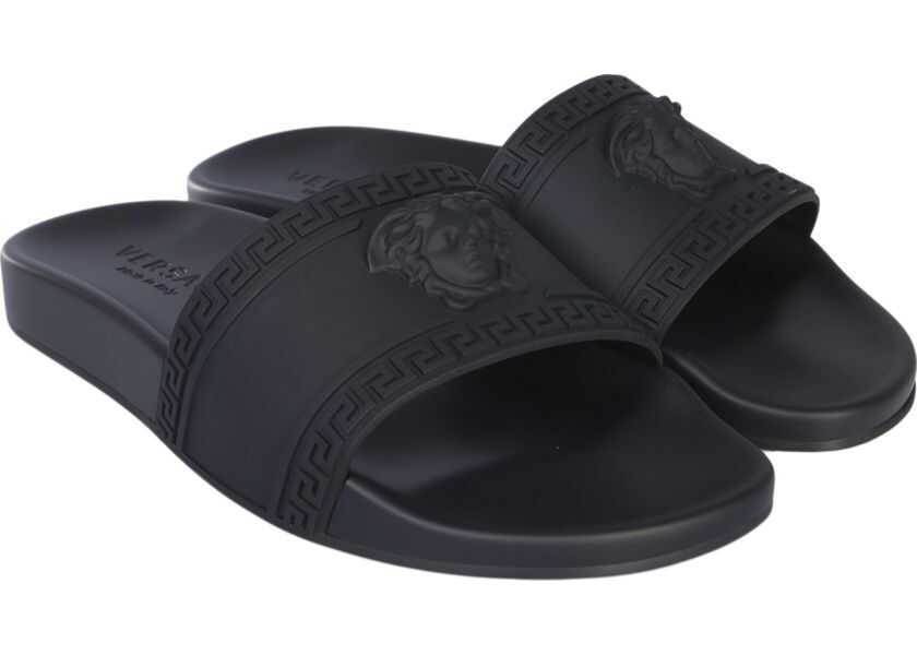 Sandale Barbati Versace Sandalo Slide Con Medusa
