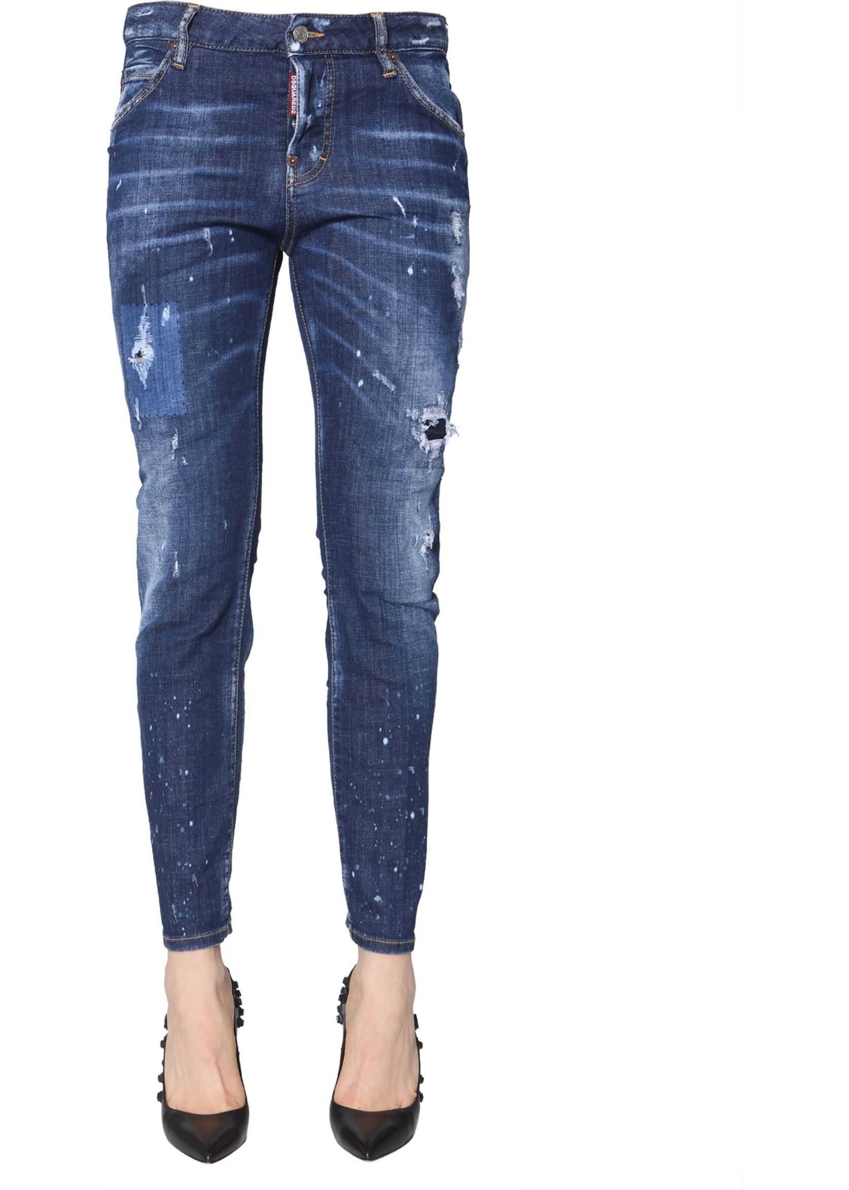 DSQUARED2 Cool Girl Fit Jeans BLUE