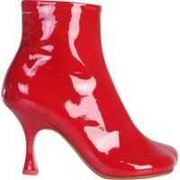 Cizme scurte Kitten Heel Ankle Boots Femei