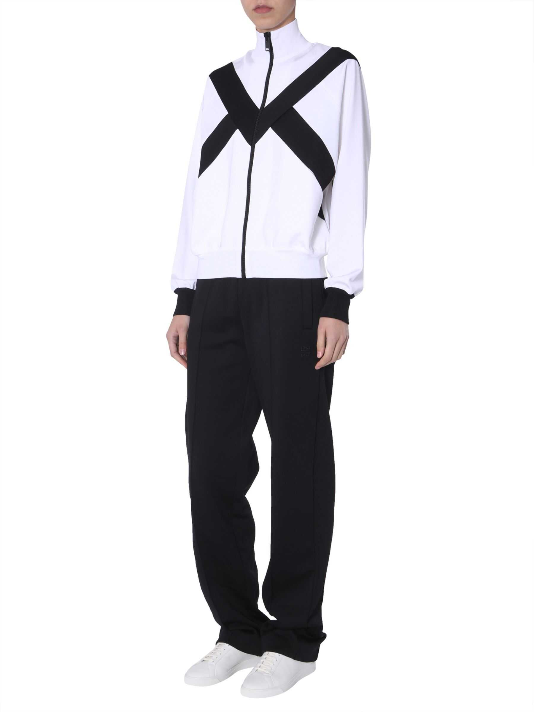 Givenchy Two-Tone Jacket With Zip BLACK