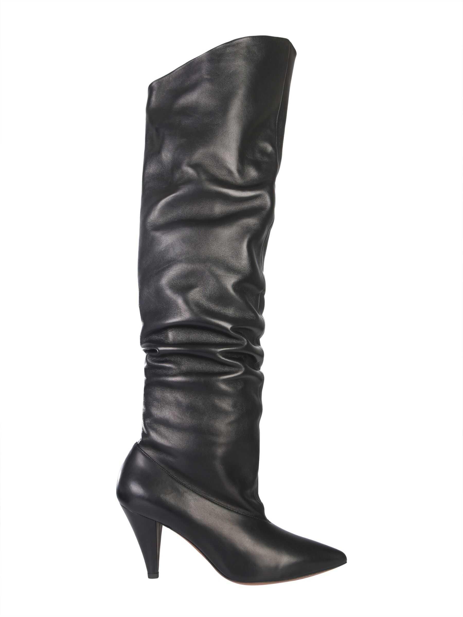 Givenchy Nappa Boots BE700S_E00H001 BLACK imagine b-mall.ro