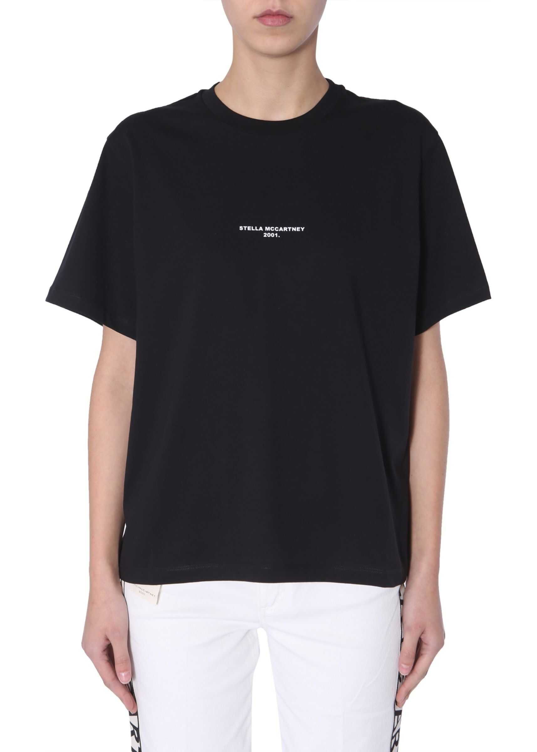 adidas by Stella McCartney Crew Neck T-Shirt BLACK