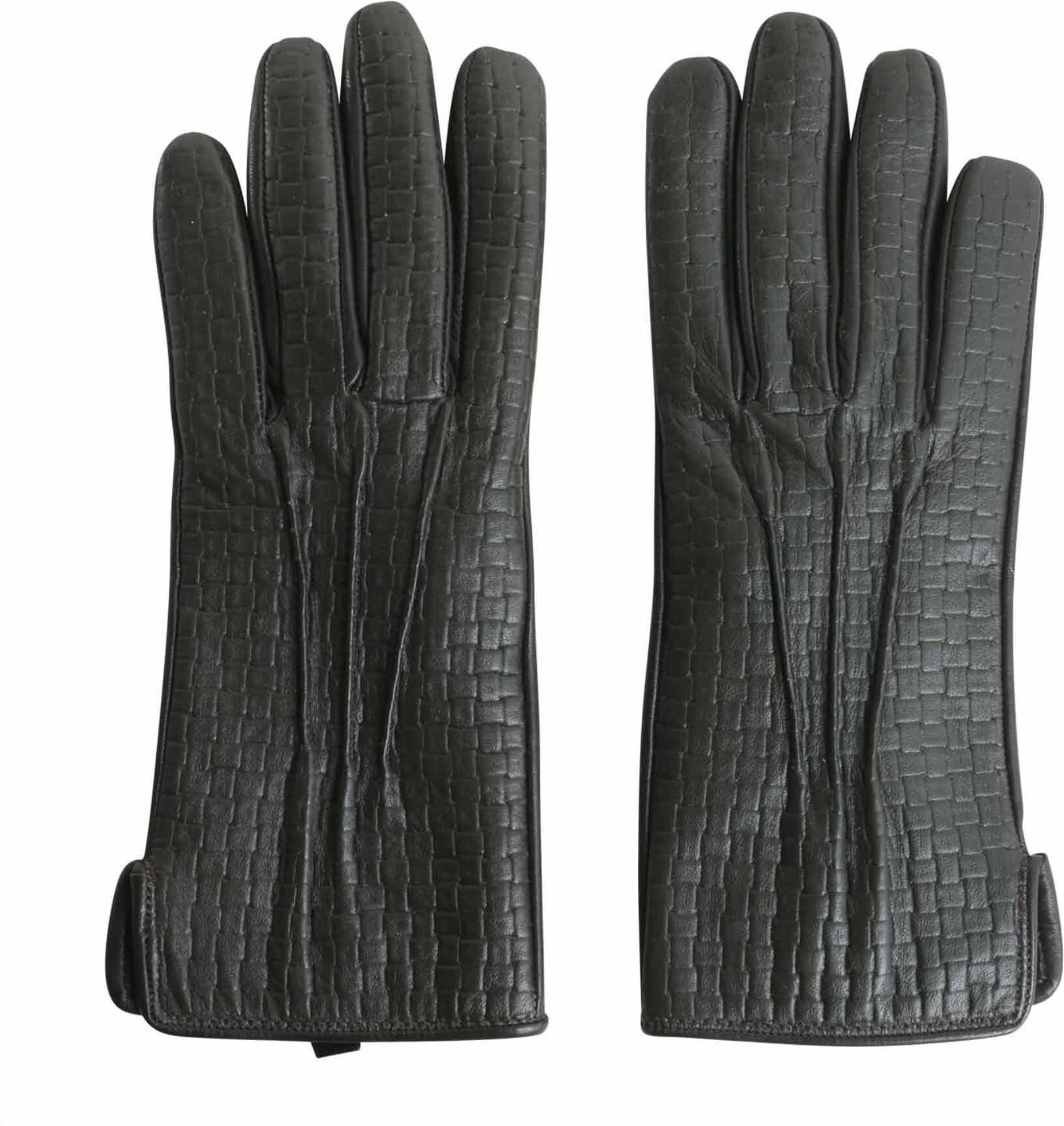 Tru Trussardi Gloves In Printed Nappa GREY