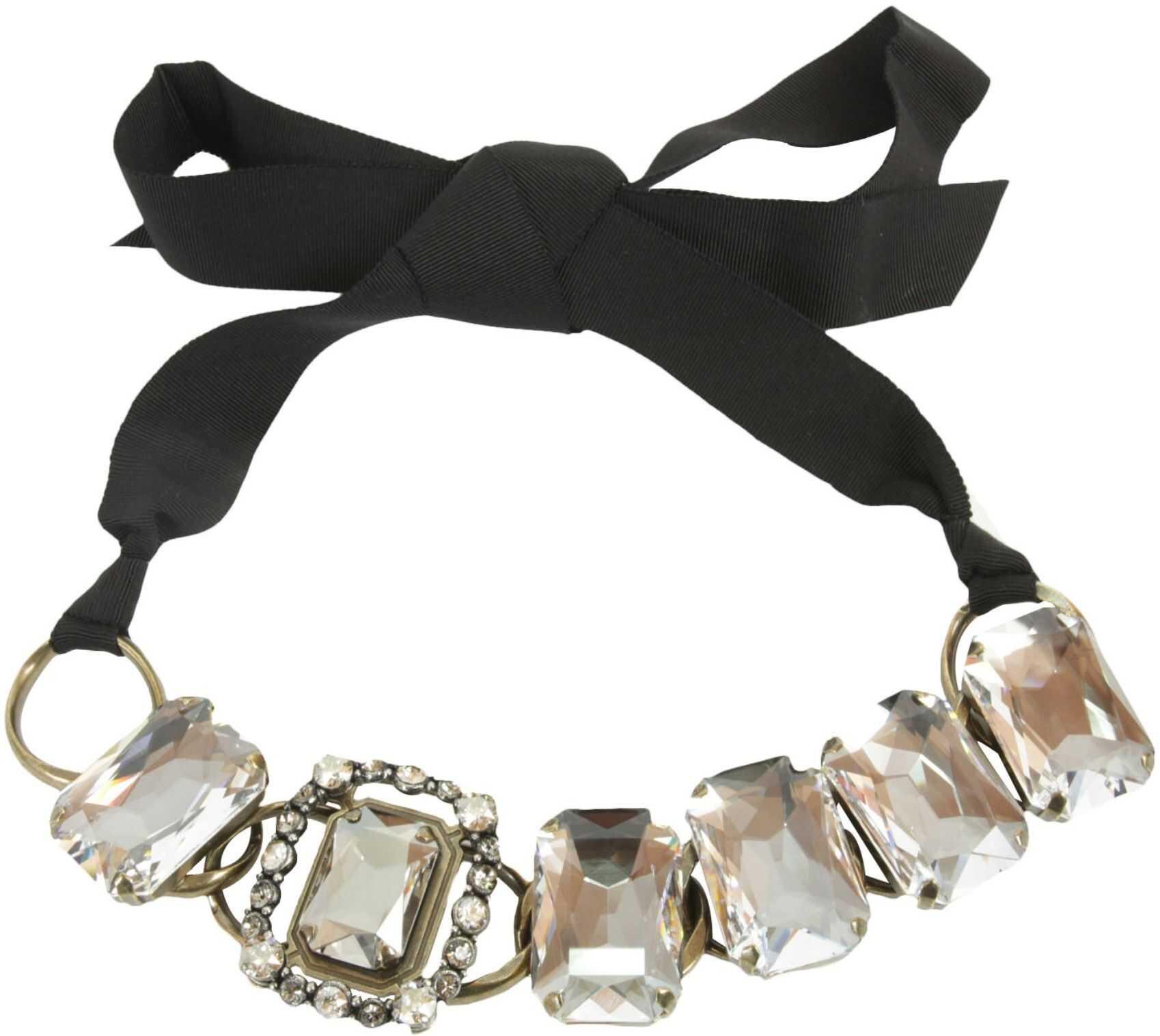 Lanvin Choker Necklace BLACK