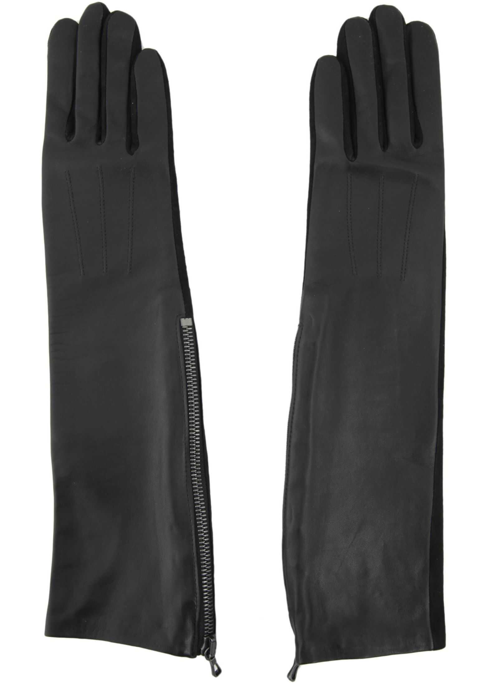 Lanvin Long Gloves BLACK