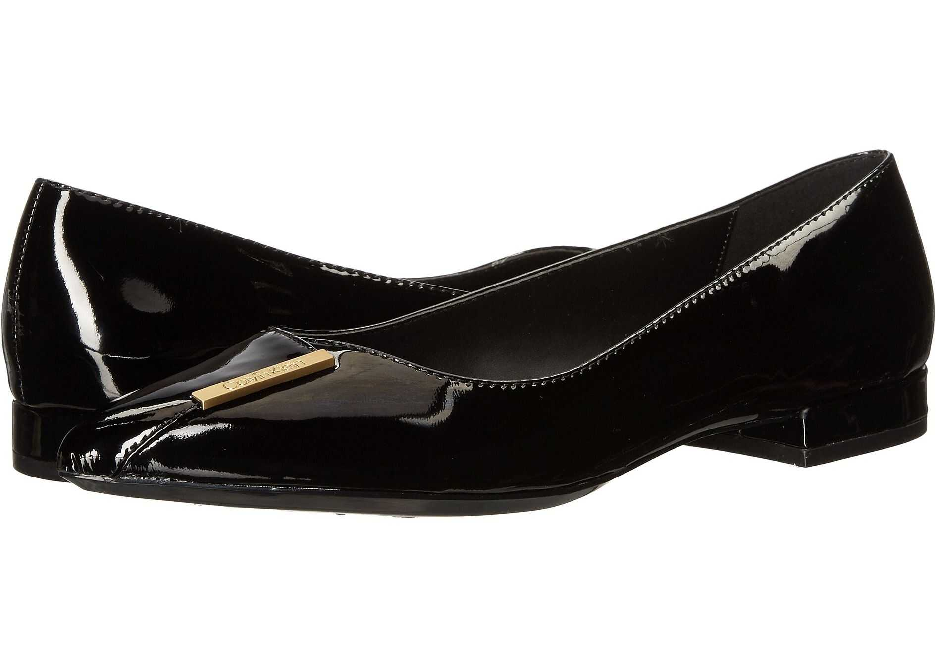 Calvin Klein Arline Black Patent