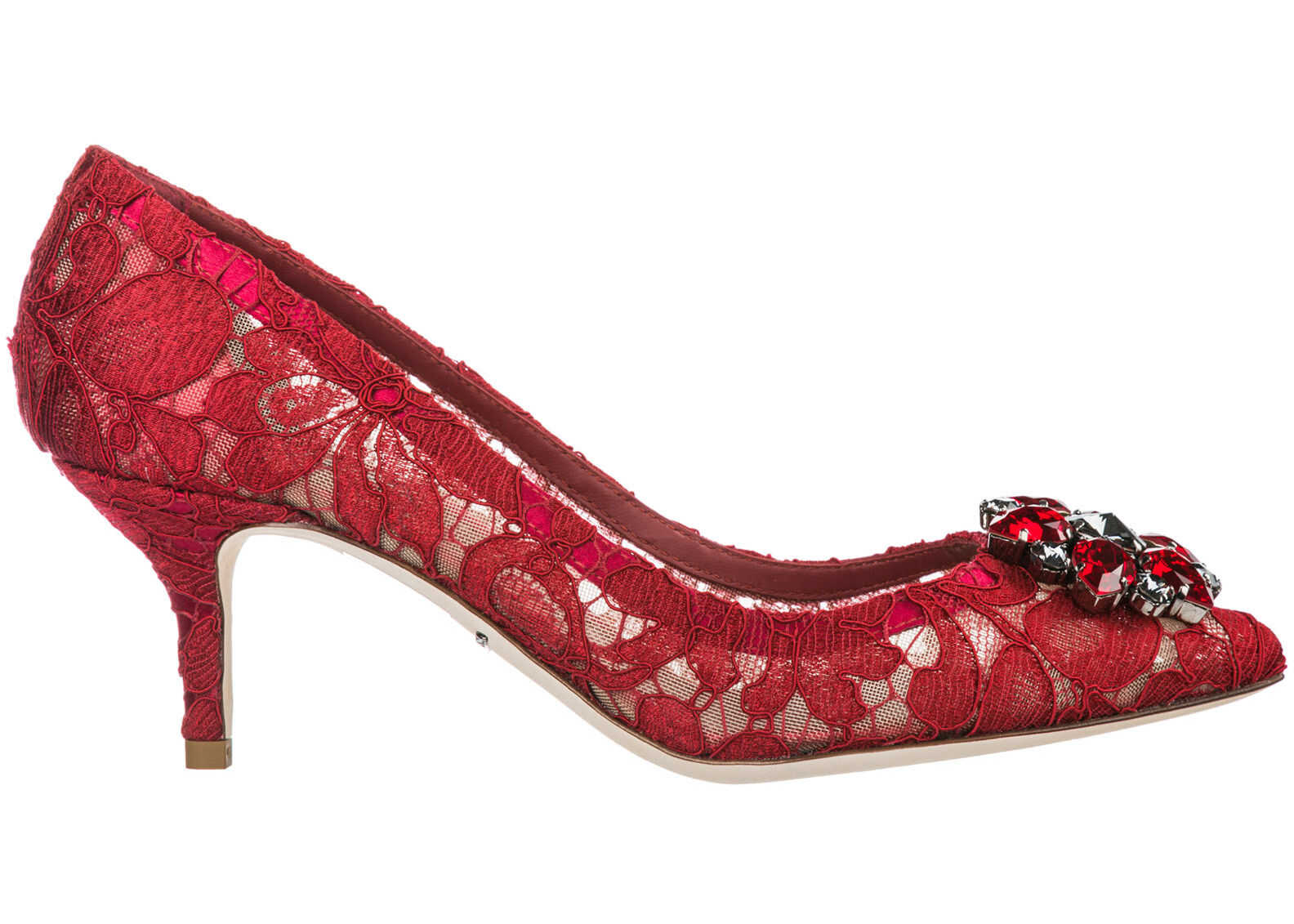 Dolce & Gabbana Rainbow Lace Red