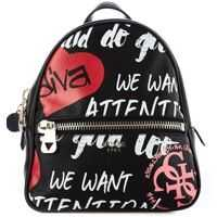 Rucsacuri Backpack with logo print Femei