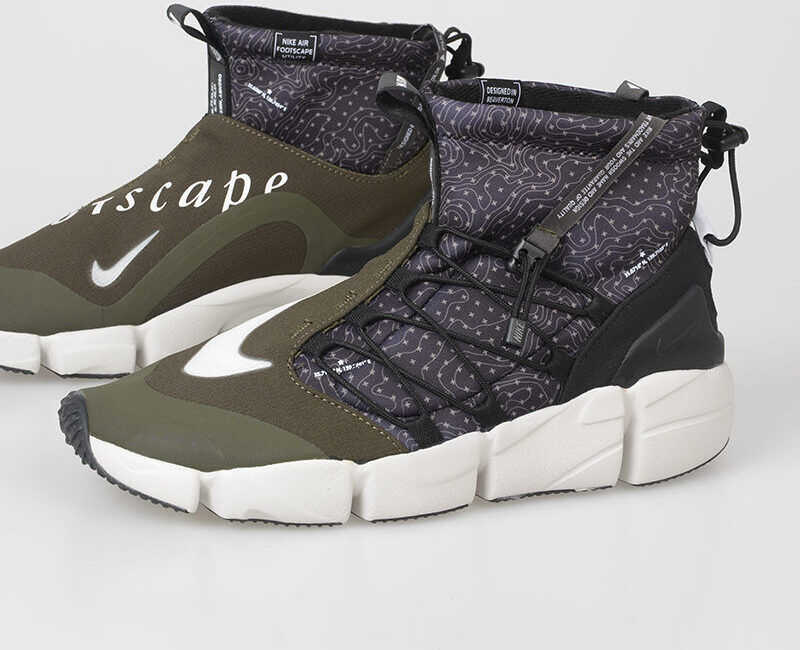 Nike Fabric AIR FOOTSCAPE MID UTILITY Sneakers MULTICOLOR