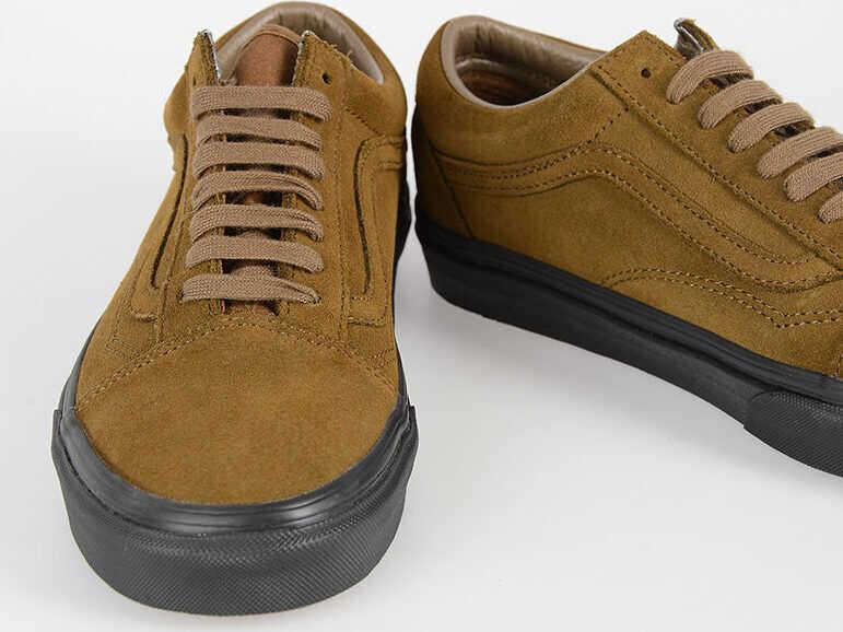 Vans Suede Leather OLD SKOOL Sneakers BROWN
