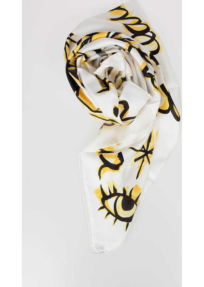 Dior 90x90cm Silk LE GEMEAUX Foulard N/A